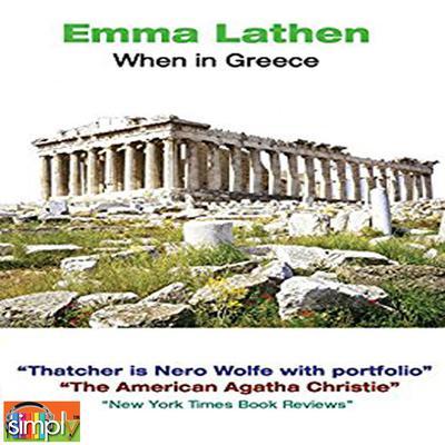 When in Greece Audiobook, by Emma Lathen