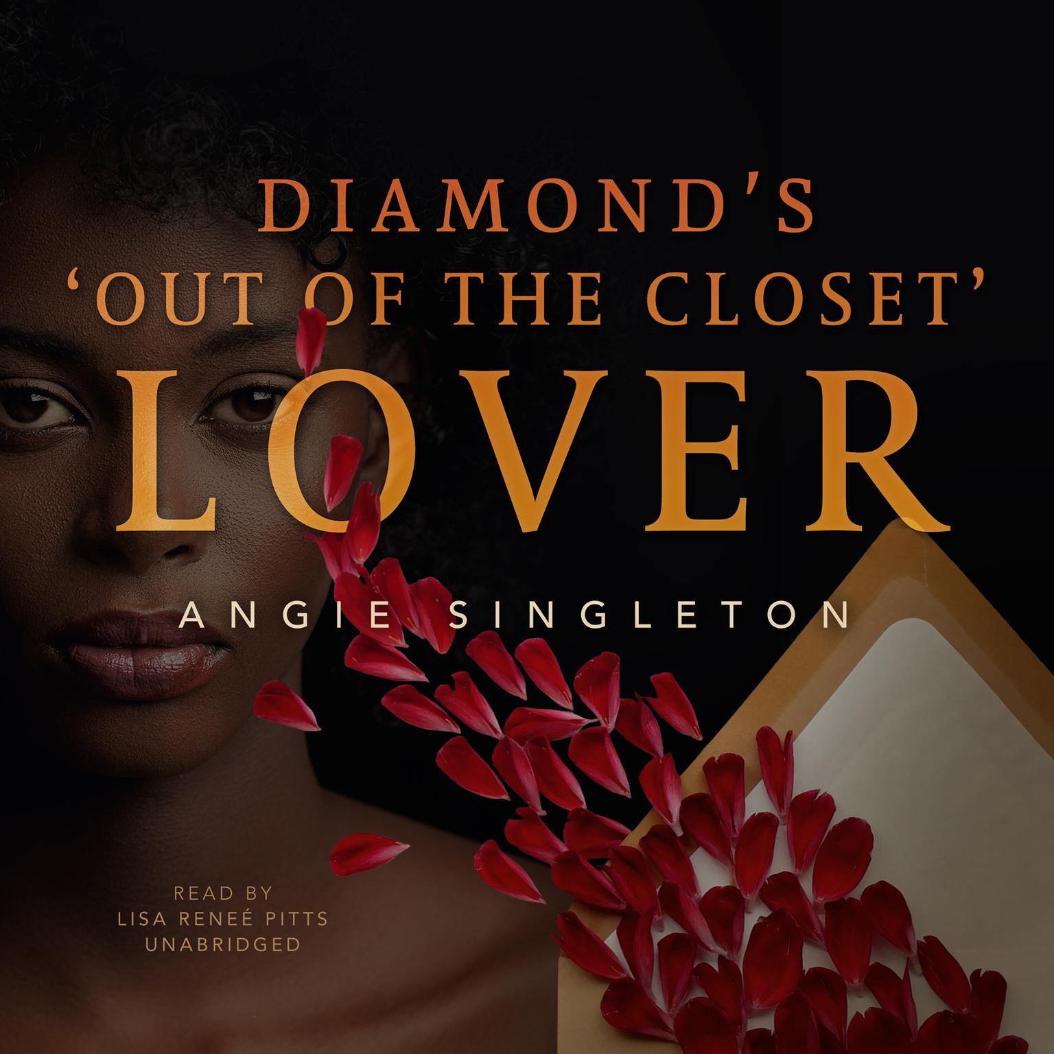 """Printable Diamond's """"Out of the Closet"""" Lover Audiobook Cover Art"""