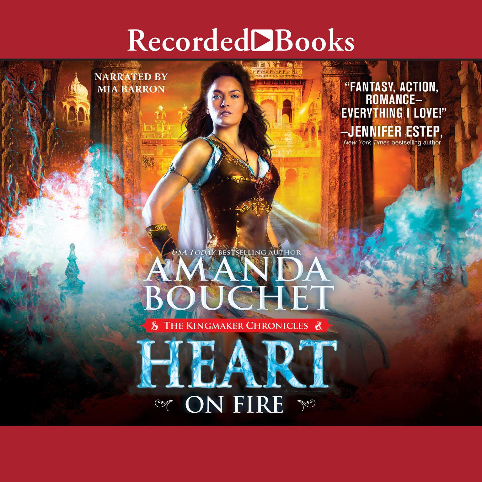 Printable Heart on Fire Audiobook Cover Art