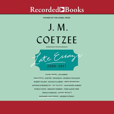 Late Essays: 2016-2017 Audiobook, by