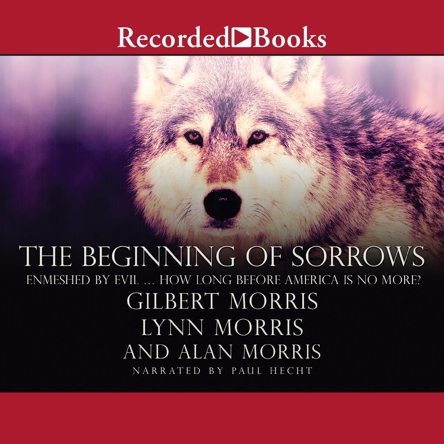 Printable The Beginning of Sorrows: Enmeshed by Evil … How Long Before America Is No More? Audiobook Cover Art