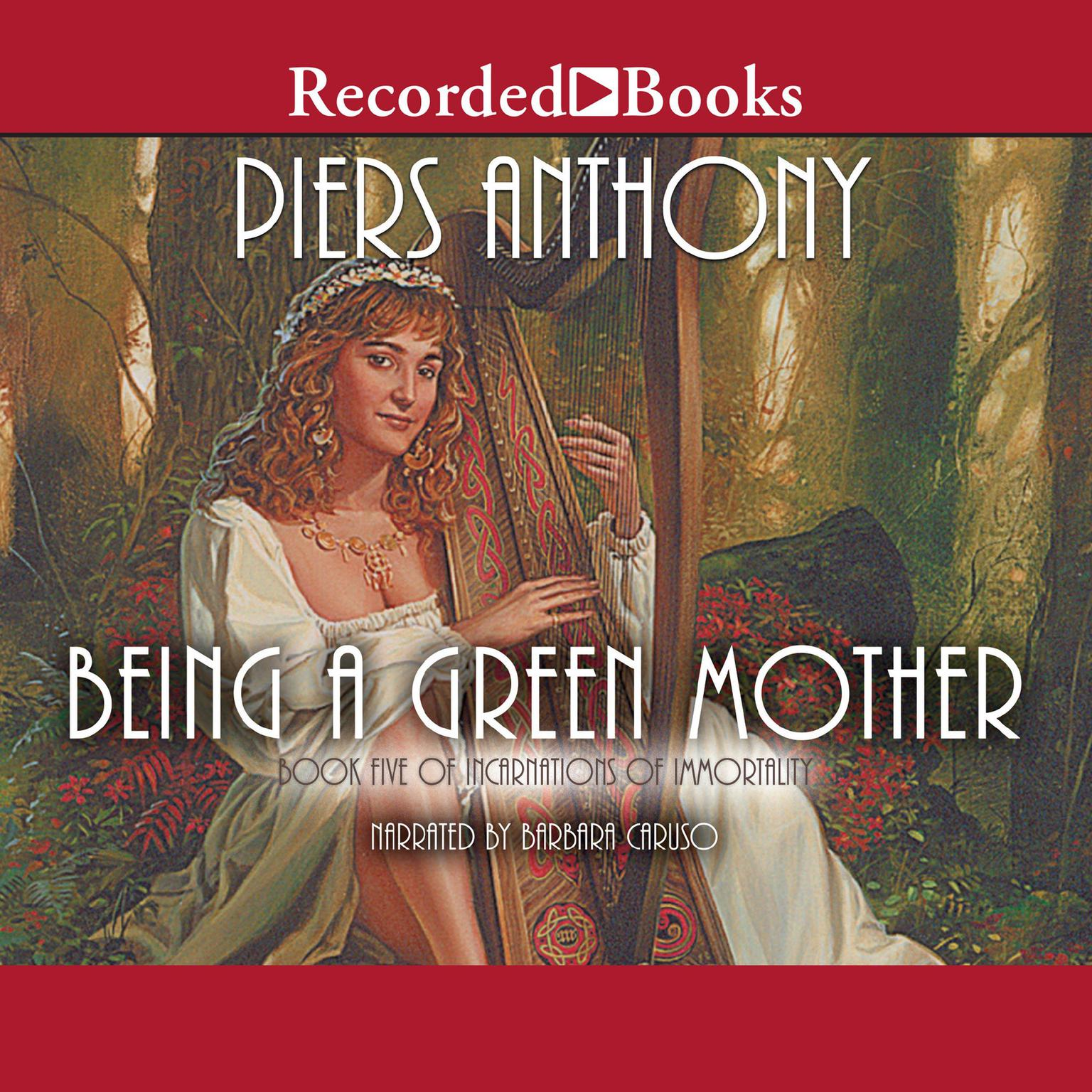 Printable Being a Green Mother Audiobook Cover Art