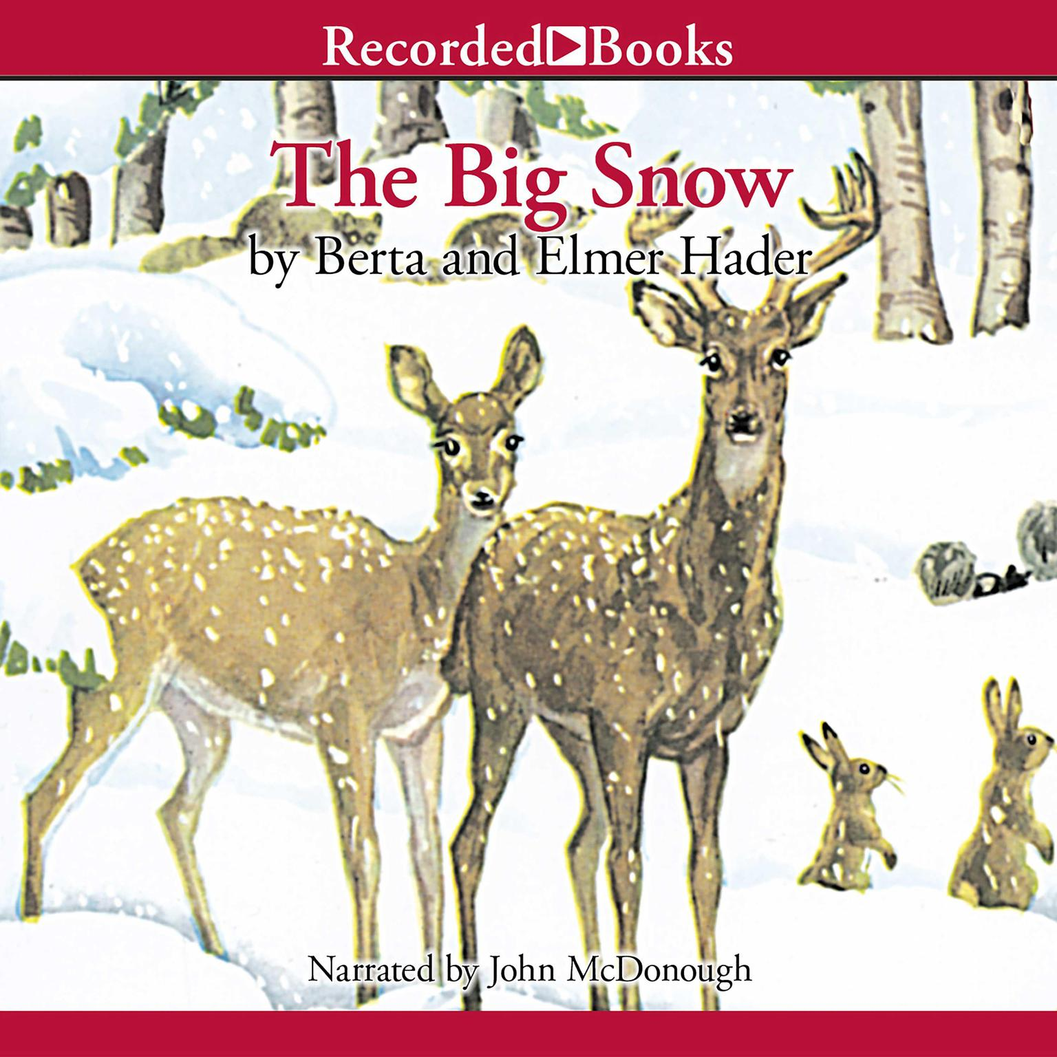 Printable The Big Snow Audiobook Cover Art