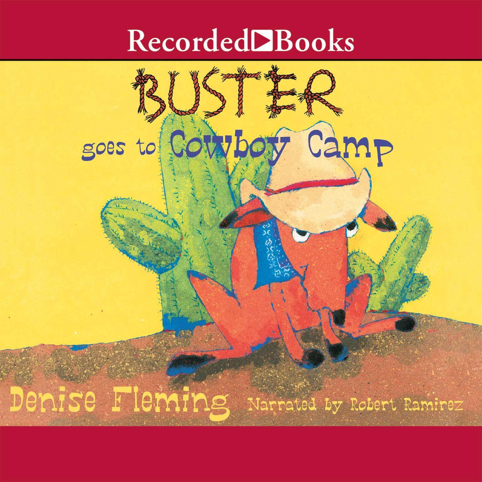 Printable Buster Goes to Cowboy Camp Audiobook Cover Art