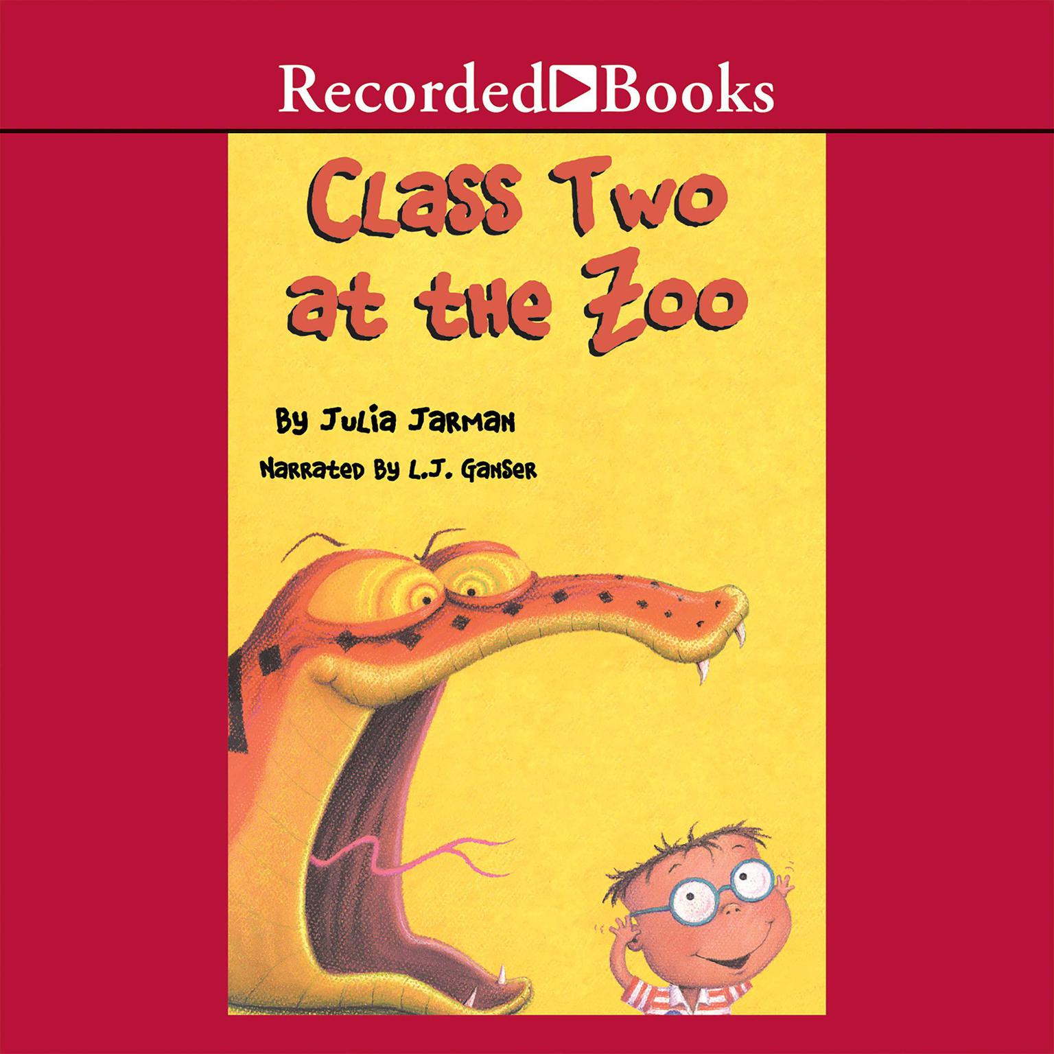 Printable Class Two at the Zoo Audiobook Cover Art