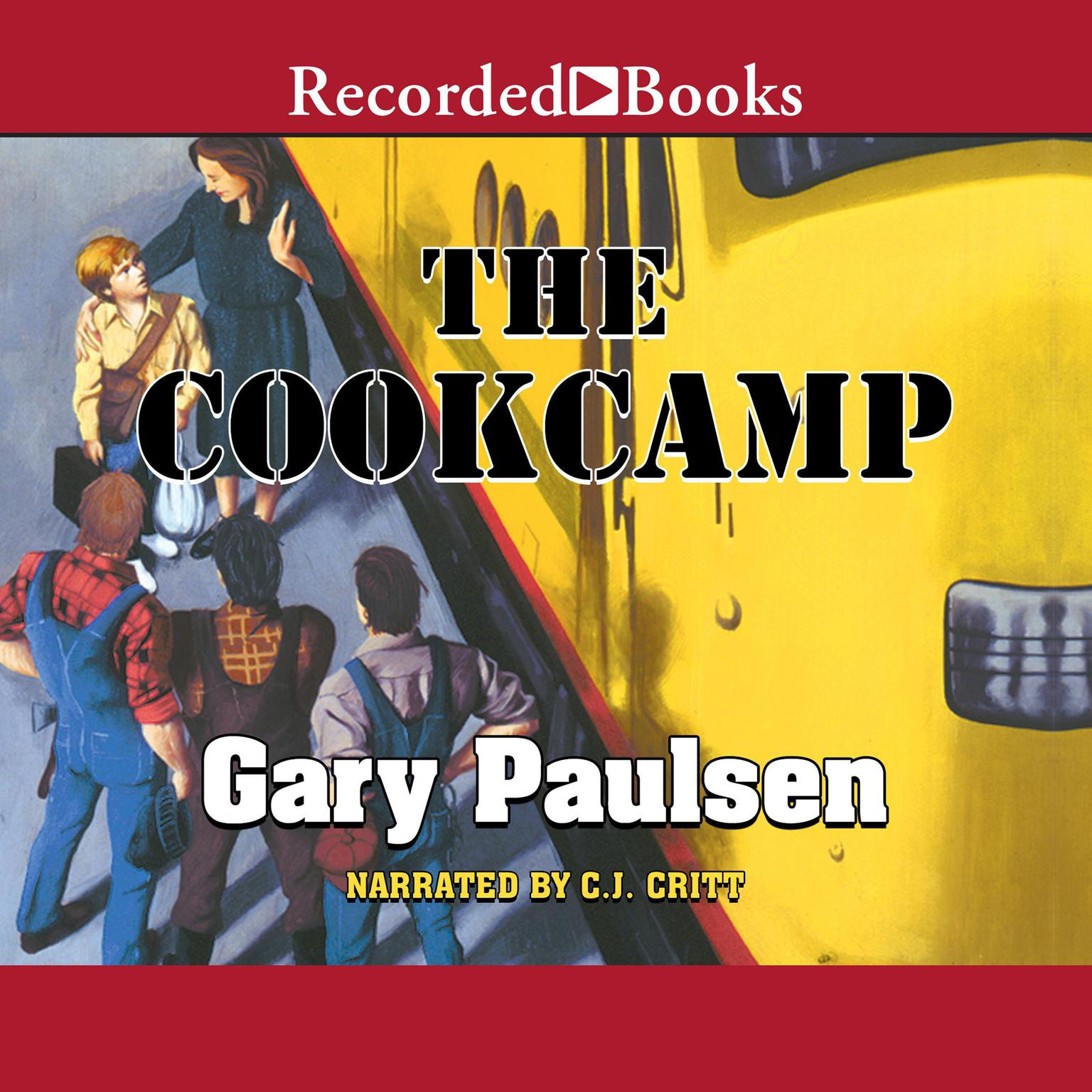 Printable The Cookcamp Audiobook Cover Art
