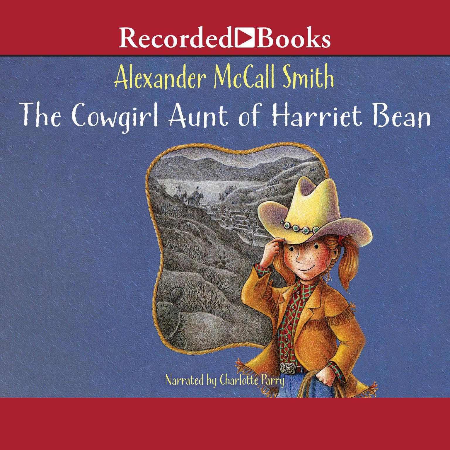 Printable The Cowgirl Aunt of Harriet Bean Audiobook Cover Art