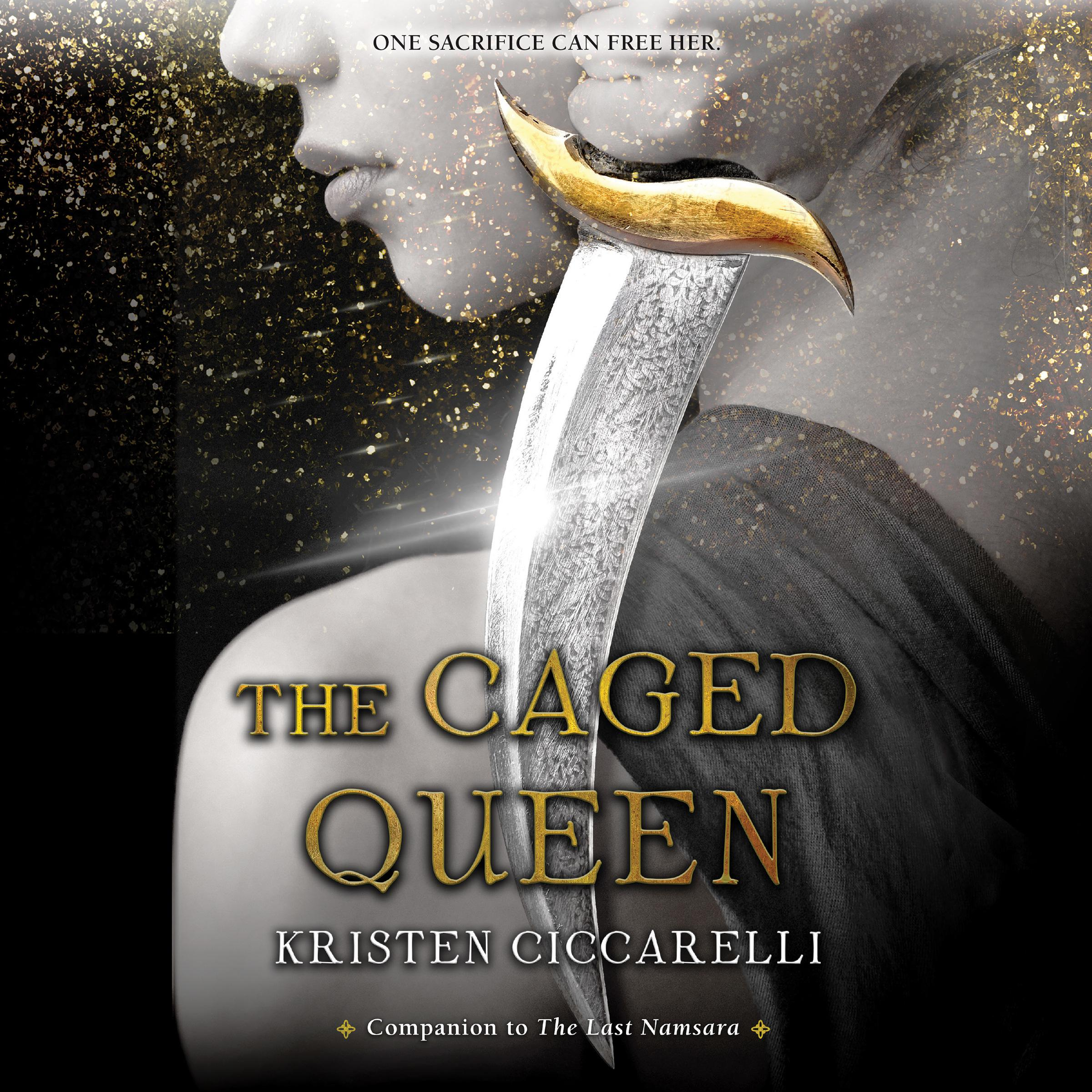 Printable The Caged Queen Audiobook Cover Art
