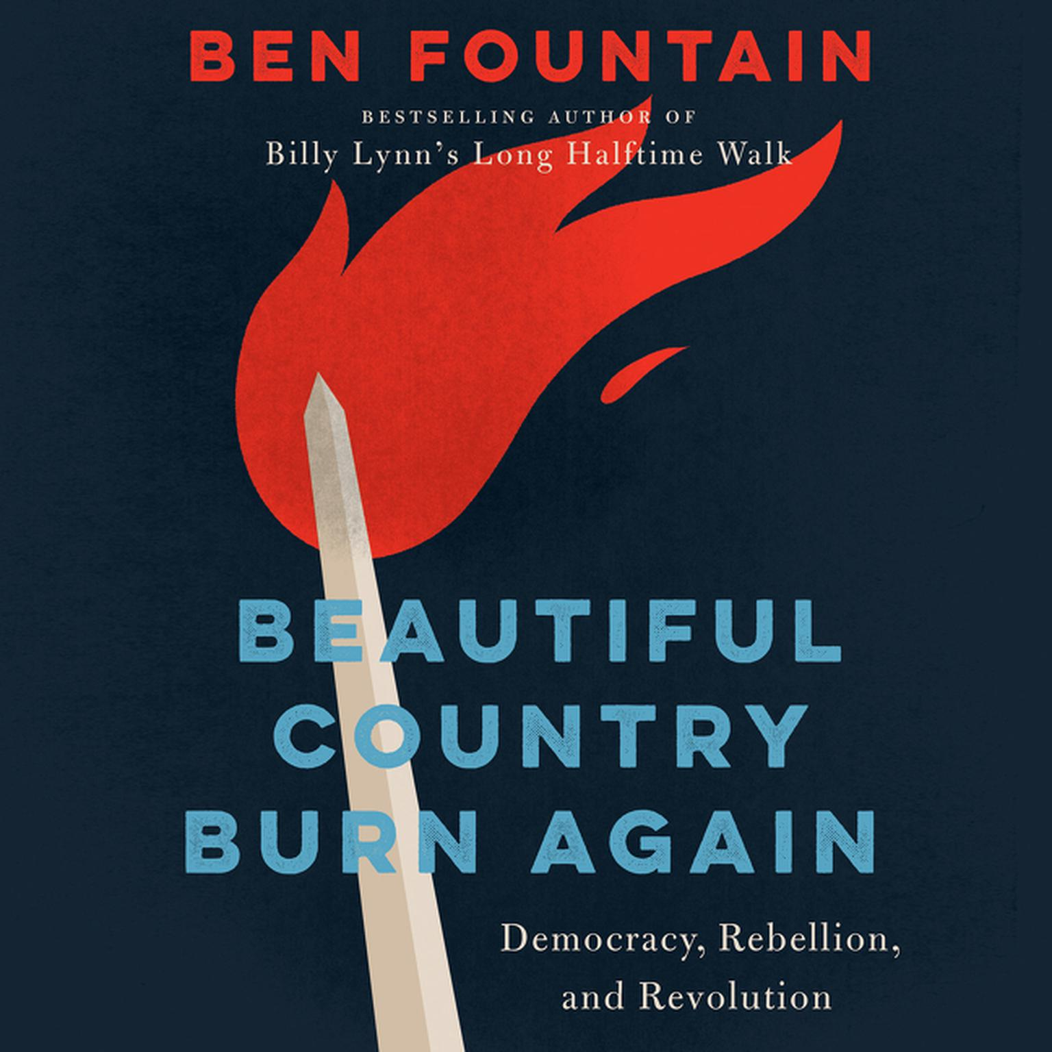 Printable Beautiful Country Burn Again: Democracy, Rebellion, and Revolution Audiobook Cover Art