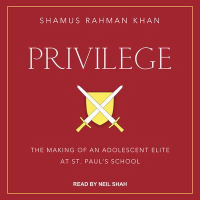 Privilege: The Making of an Adolescent Elite at St. Pauls School Audiobook, by Shamus Rahman Khan