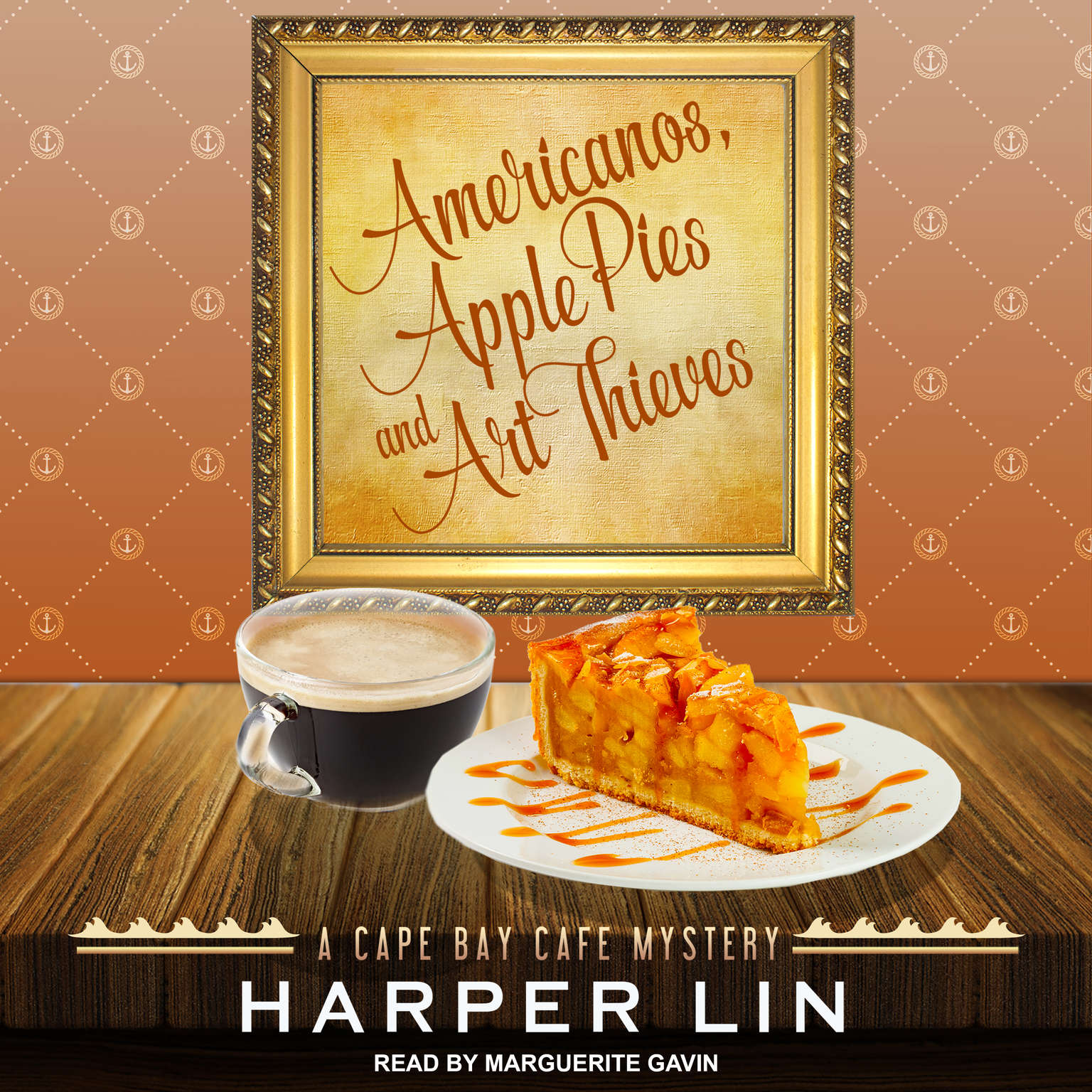 Americanos, Apple Pies, and Art Thieves Audiobook, by Harper Lin