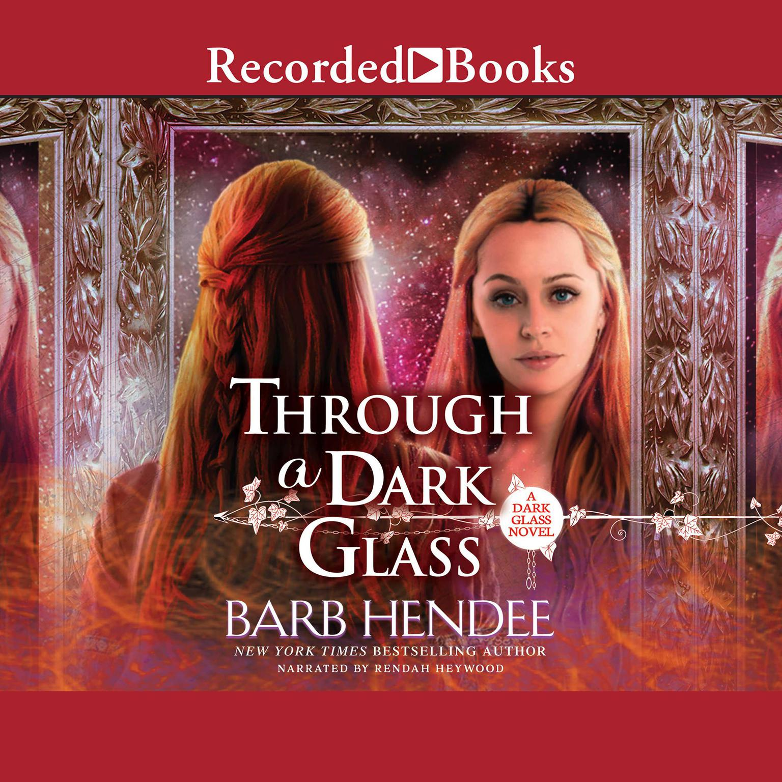 Printable Through a Dark Glass Audiobook Cover Art