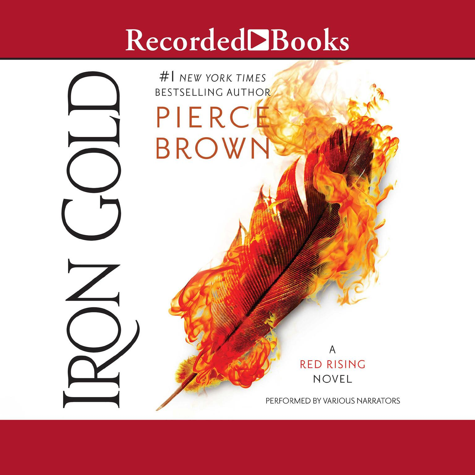 Printable Iron Gold Audiobook Cover Art