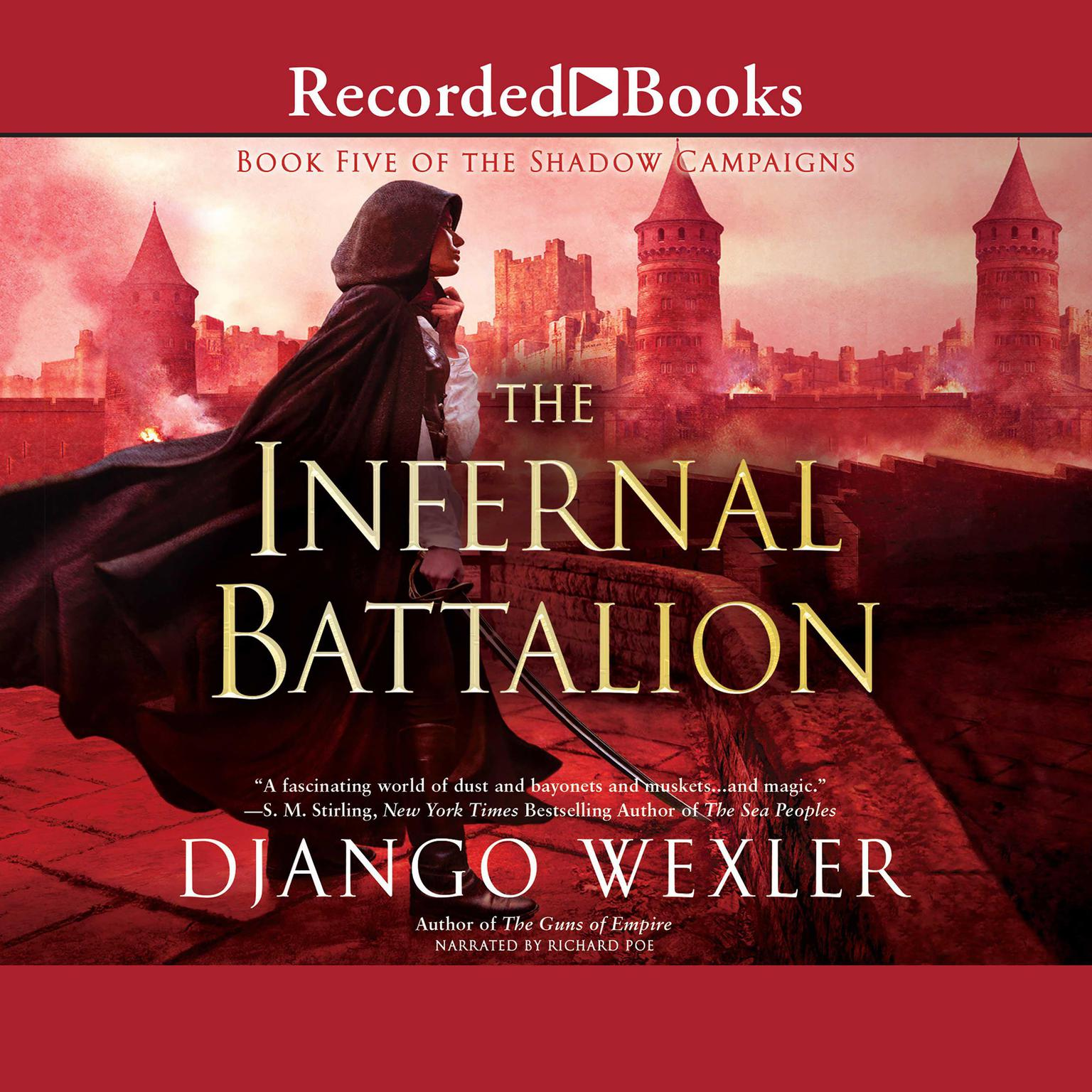 Printable The Infernal Battalion Audiobook Cover Art