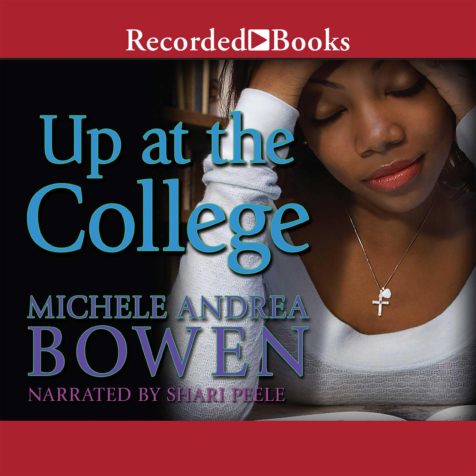 Printable Up at the College Audiobook Cover Art