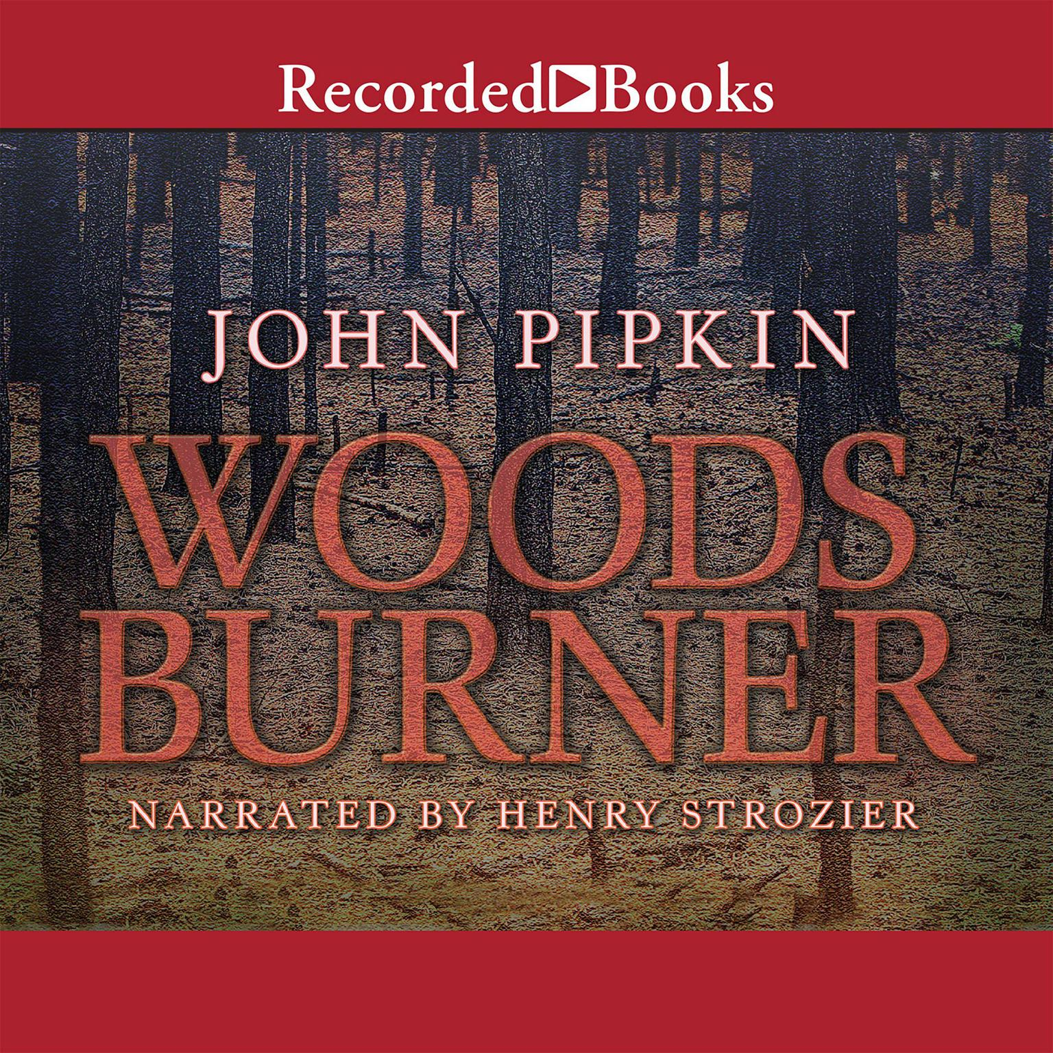 Printable Woodsburner: A Novel Audiobook Cover Art