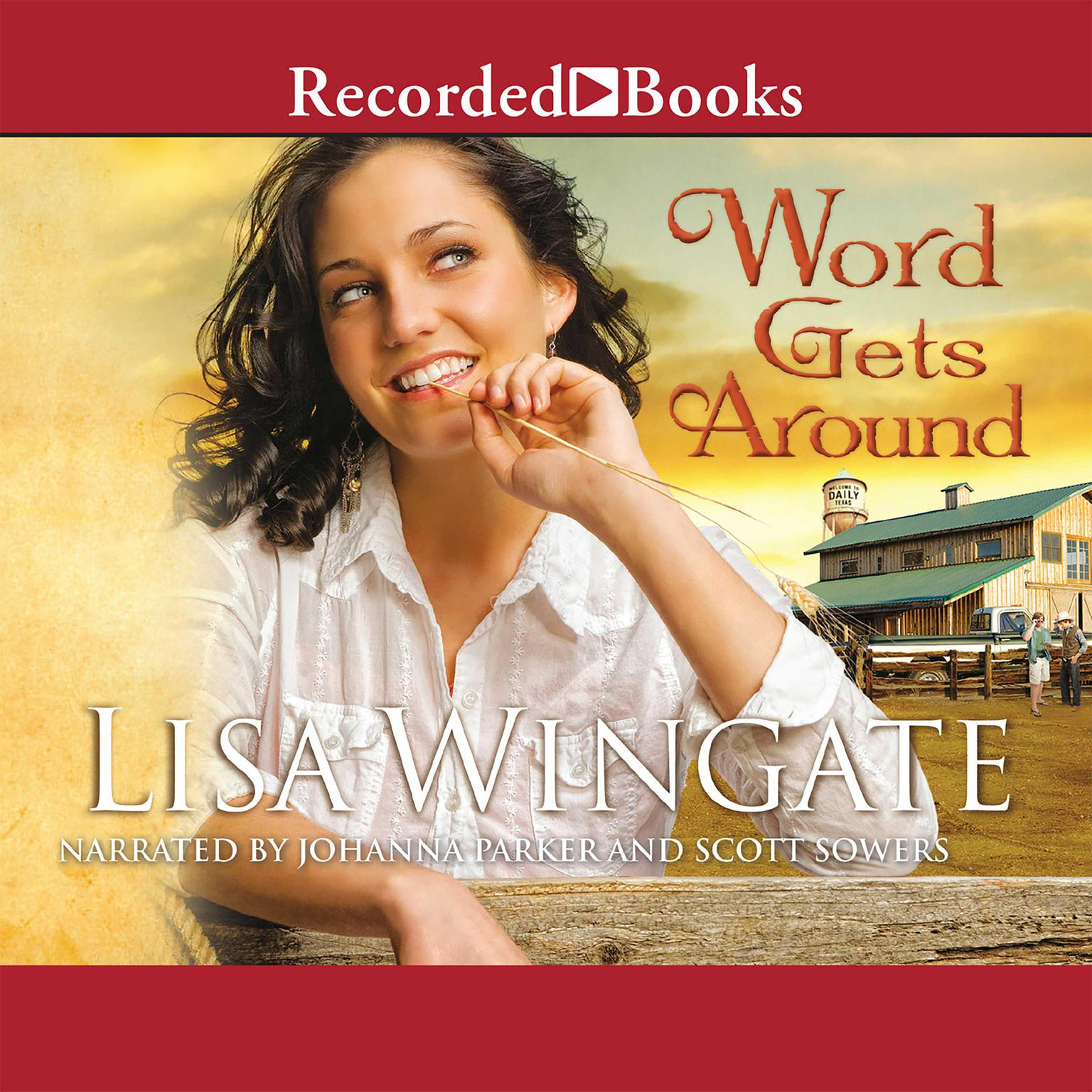 Printable Word Gets Around Audiobook Cover Art