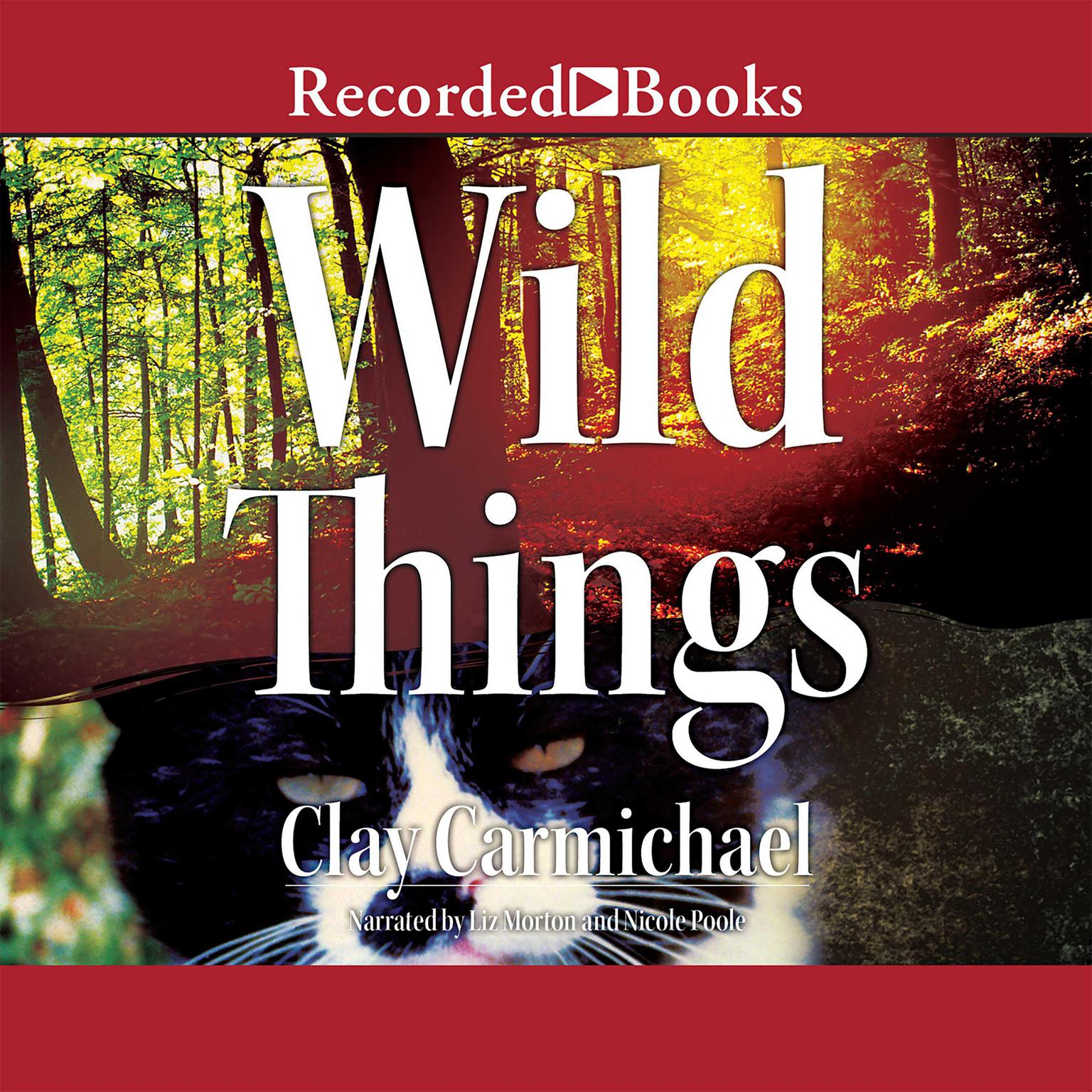 Printable Wild Things Audiobook Cover Art