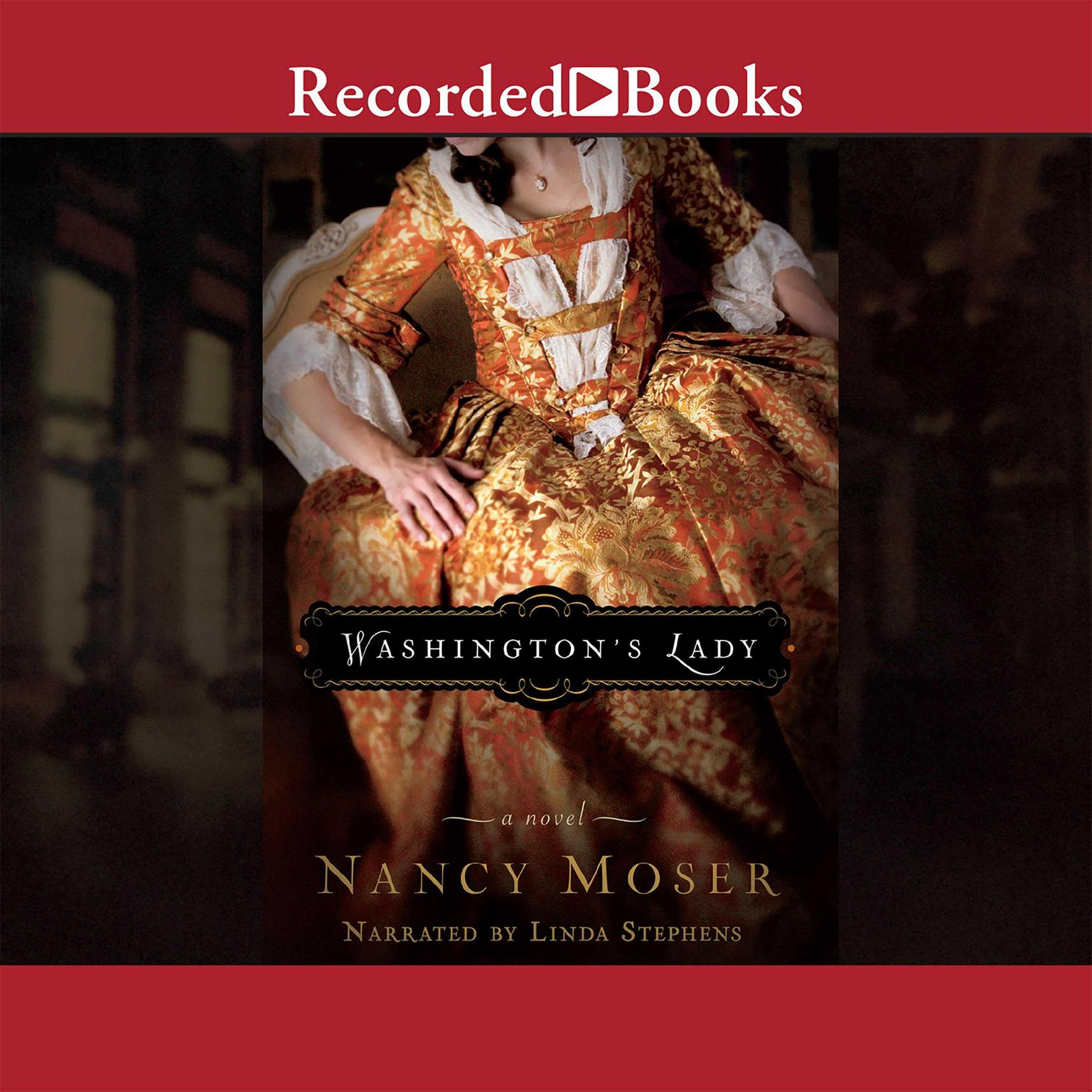 Printable Washington's Lady Audiobook Cover Art