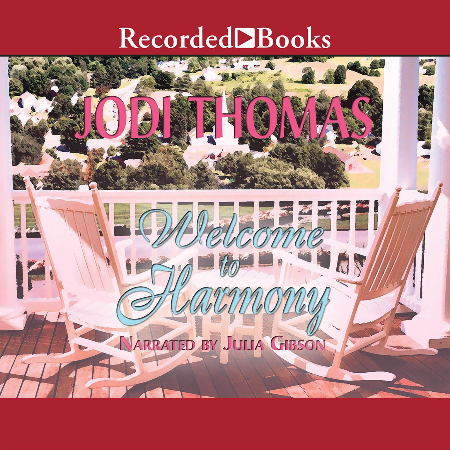 Printable Welcome to Harmony Audiobook Cover Art