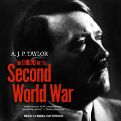 The Origins of the Second World War Audiobook, by A. J. P. Taylor