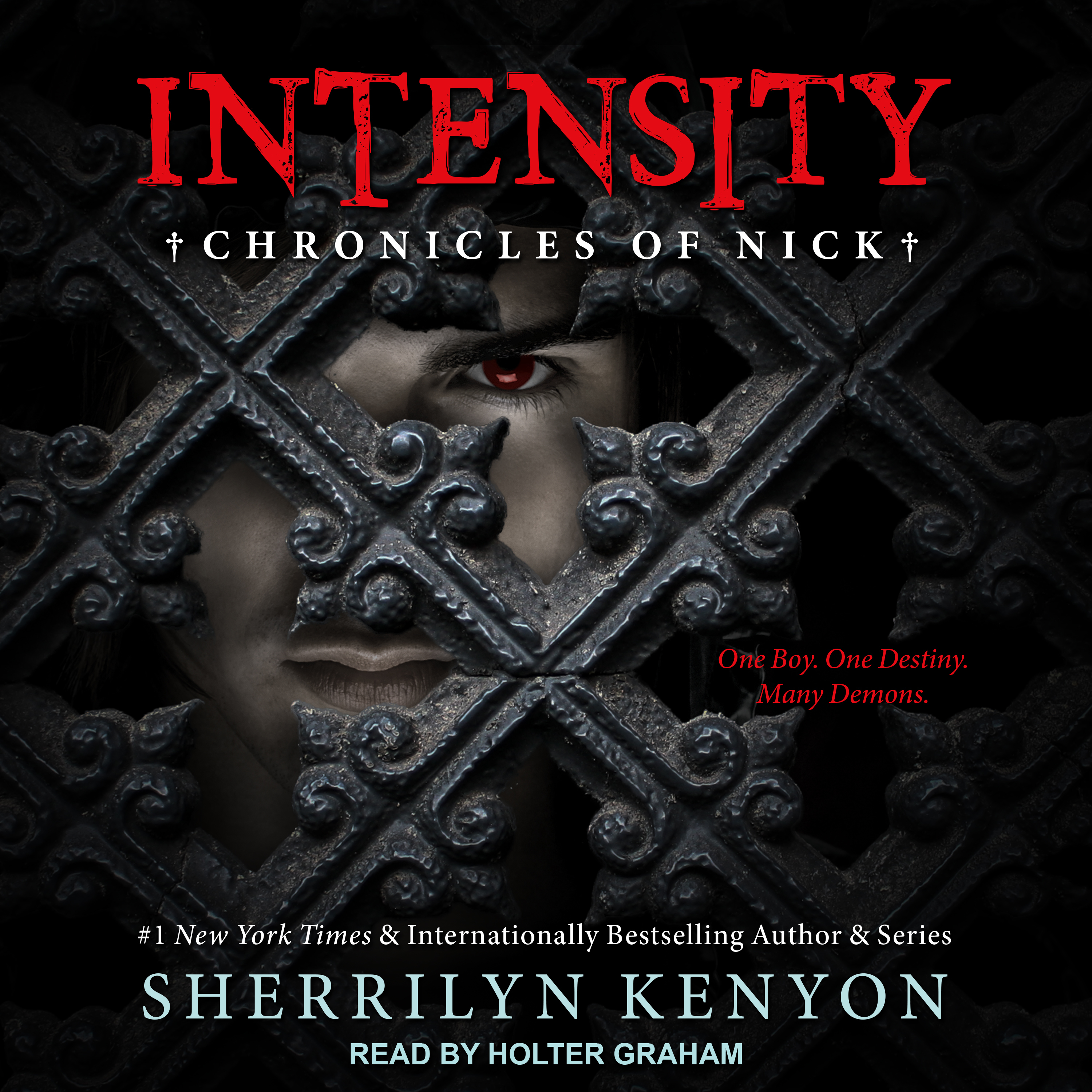 Printable Intensity: Chronicles of Nick Audiobook Cover Art