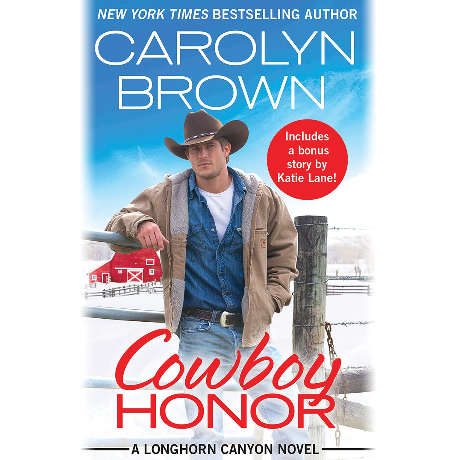 Printable Cowboy Honor: Includes a bonus novella Audiobook Cover Art