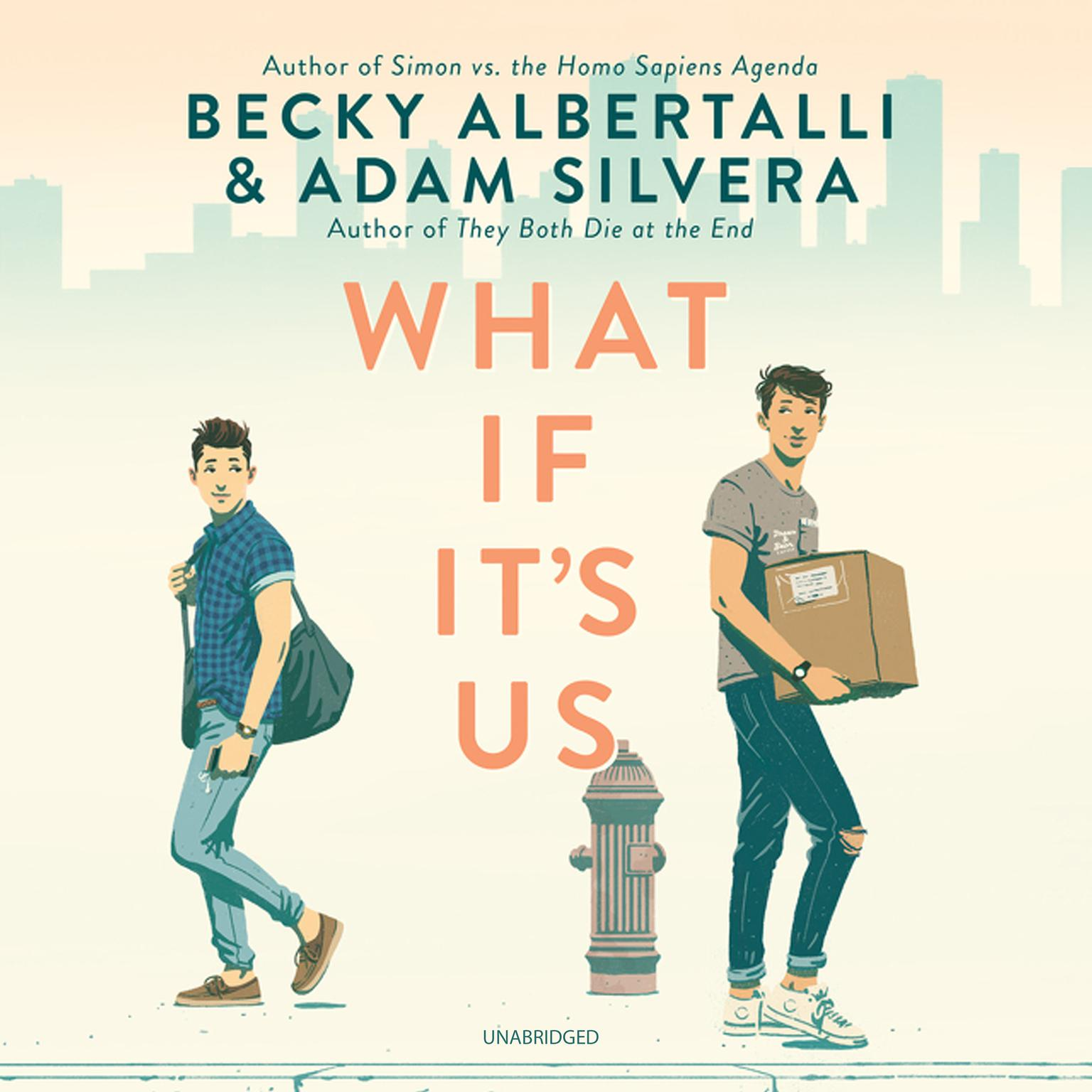 Printable What If It's Us Audiobook Cover Art