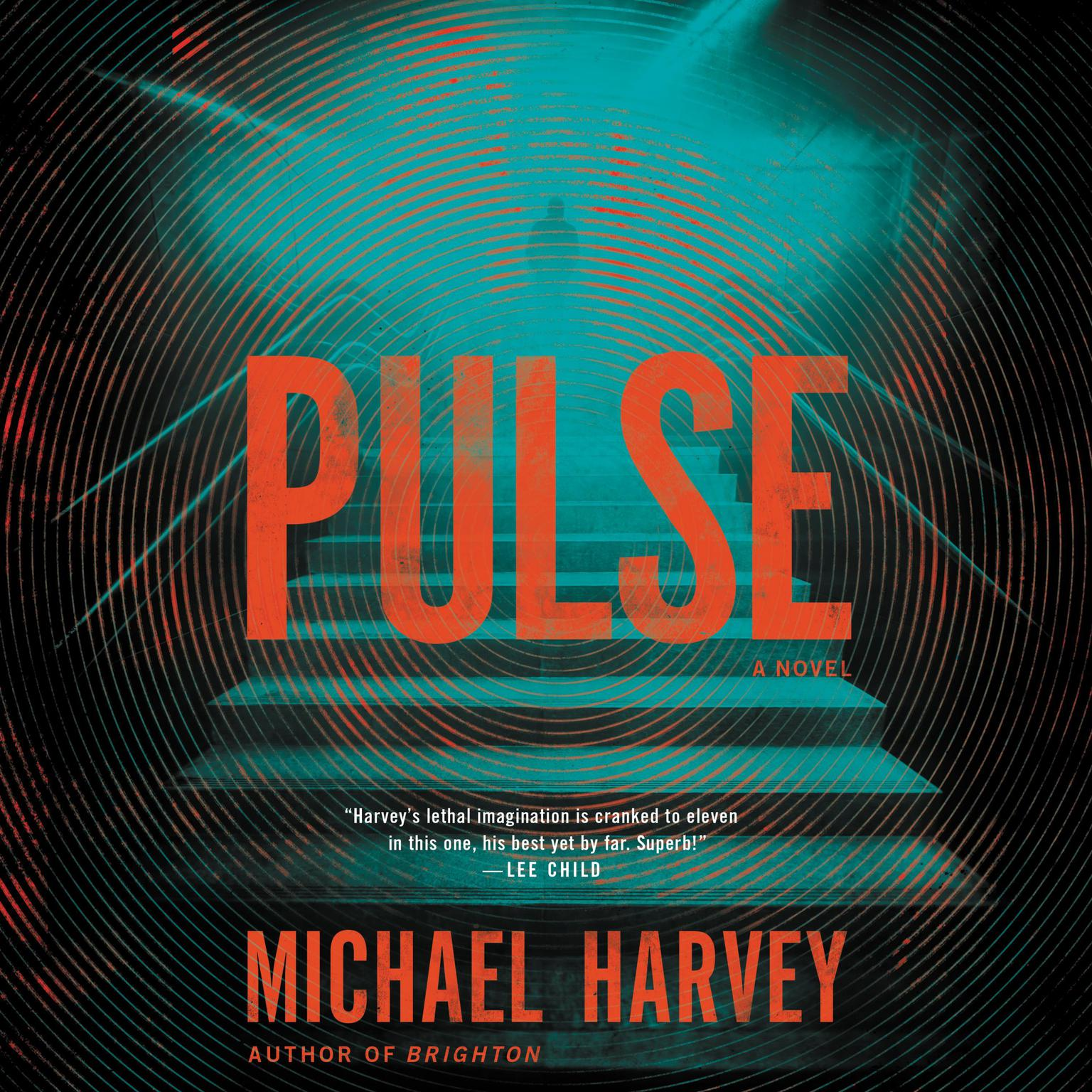 Printable Pulse: A Novel Audiobook Cover Art