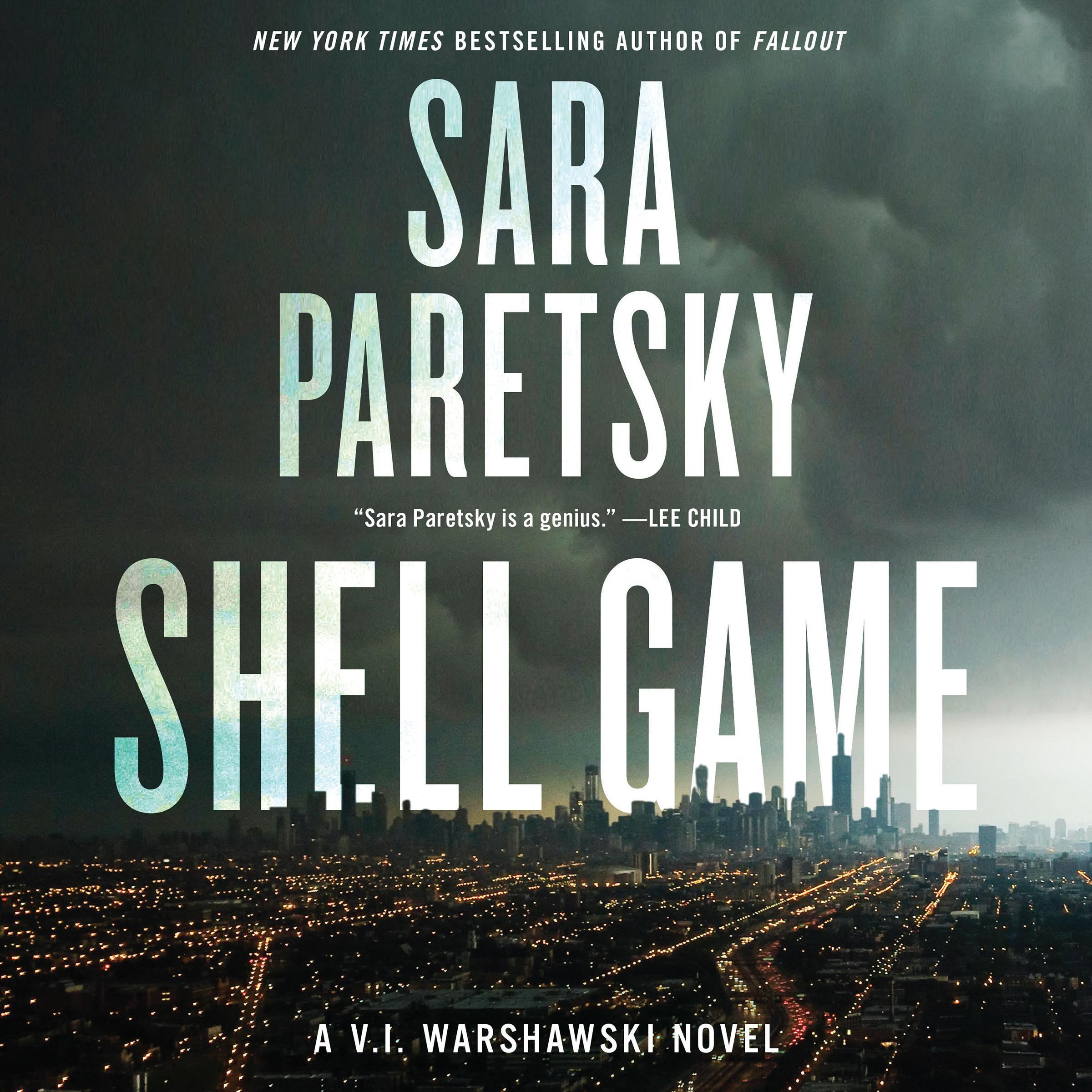 Printable Shell Game: A V.I. Warshawski Novel Audiobook Cover Art