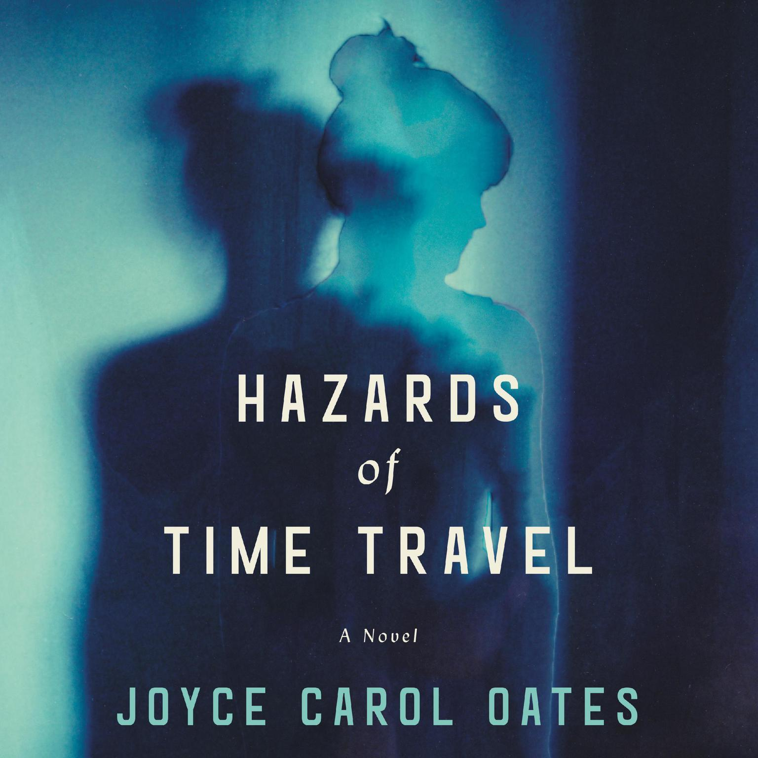 Printable Hazards of Time Travel: A Novel Audiobook Cover Art