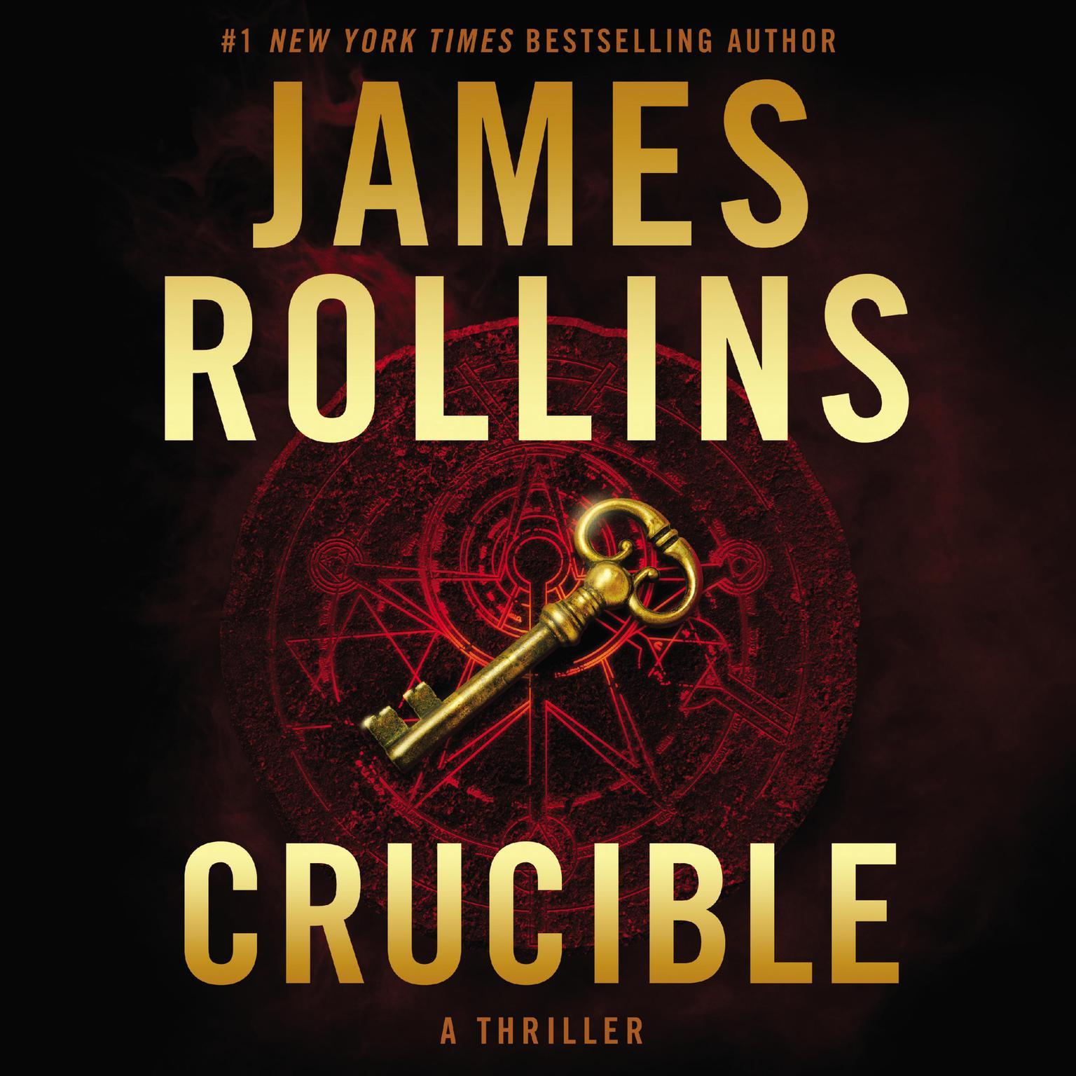 Printable Crucible: A Thriller Audiobook Cover Art
