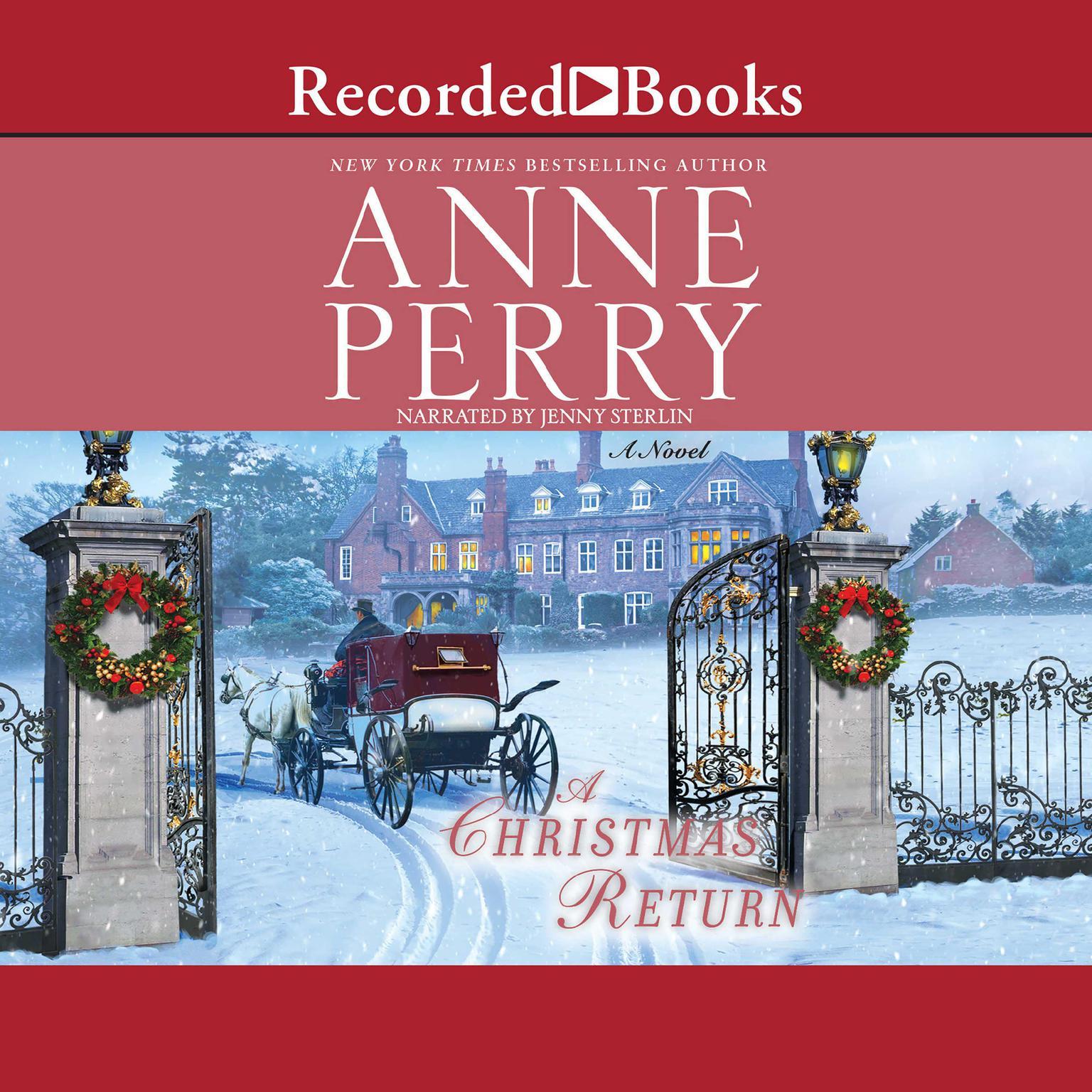 Printable A Christmas Return: A Novel Audiobook Cover Art