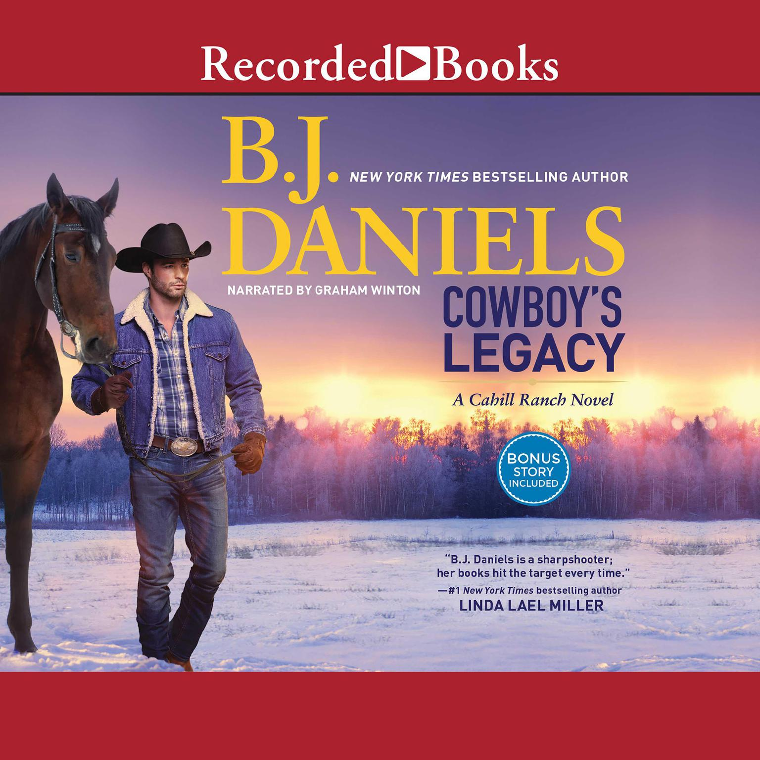 Printable Cowboy's Legacy Audiobook Cover Art