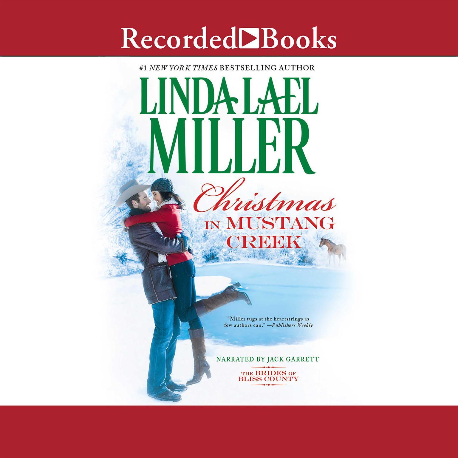Printable Christmas in Mustang Creek Audiobook Cover Art