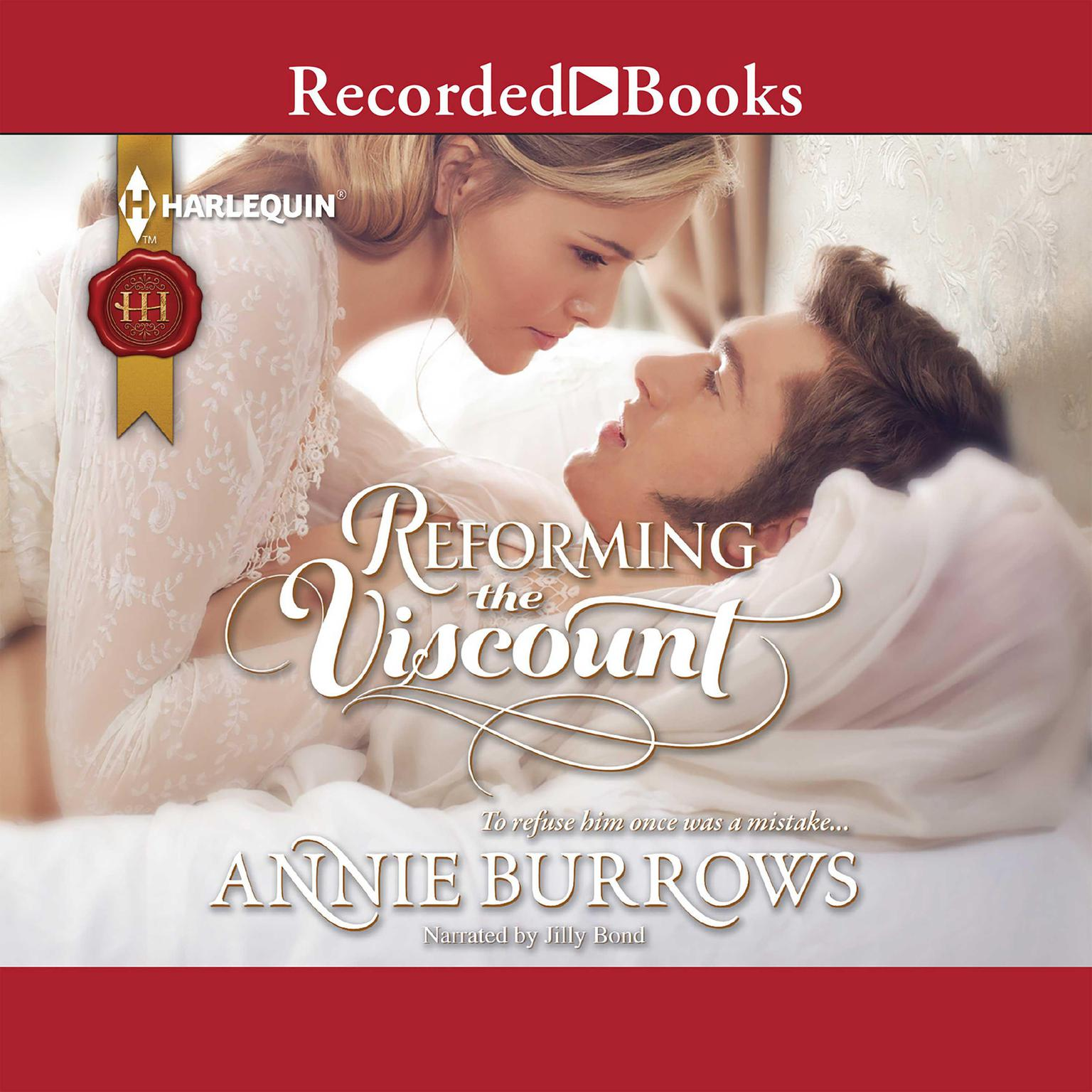 Printable Reforming the Viscount Audiobook Cover Art