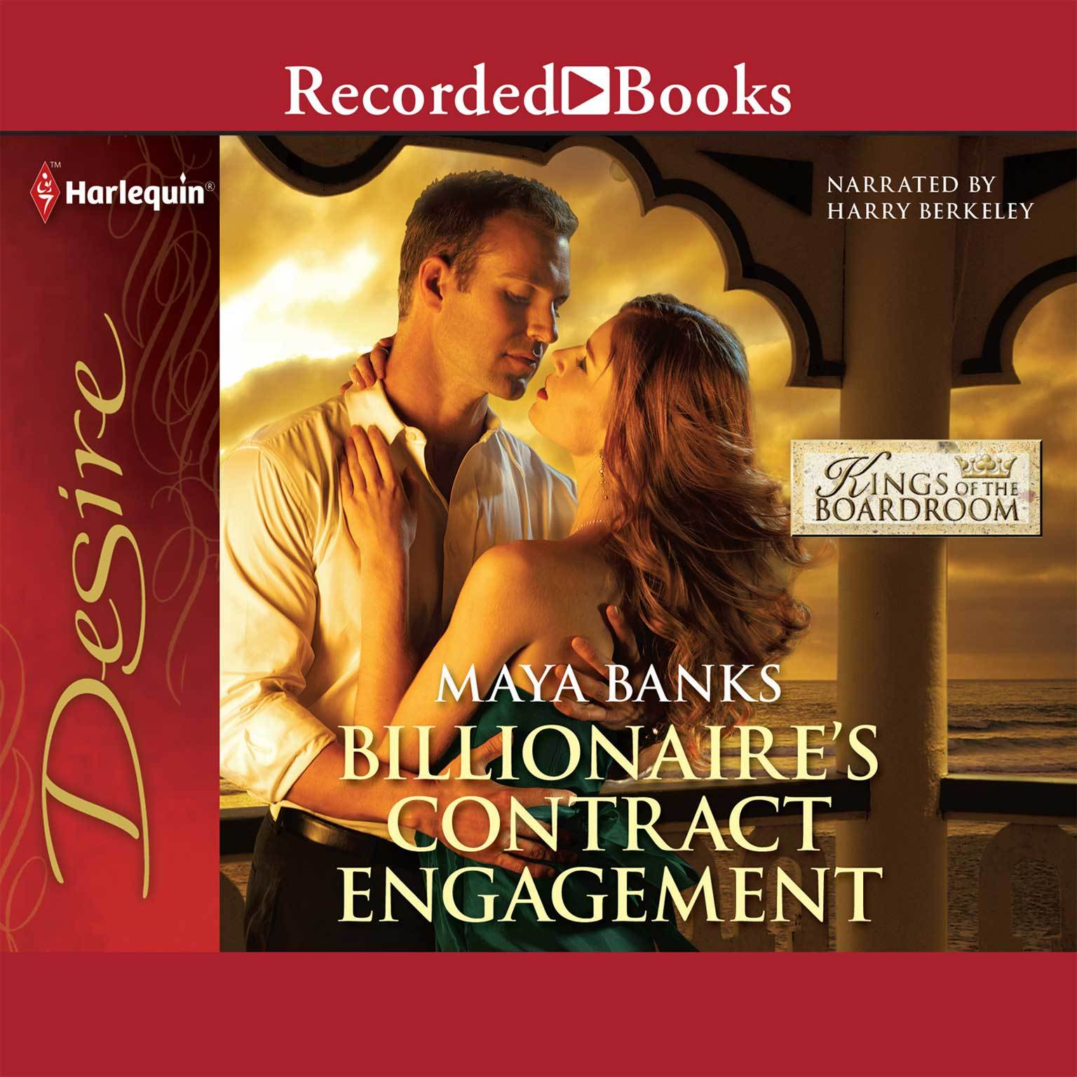 Printable Billionaire's Contract Engagement Audiobook Cover Art