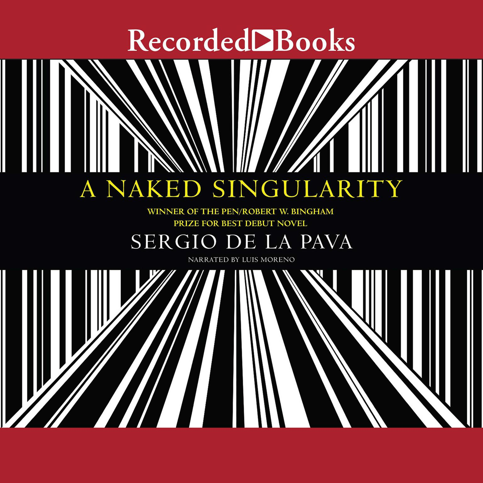 Printable A Naked Singularity Audiobook Cover Art