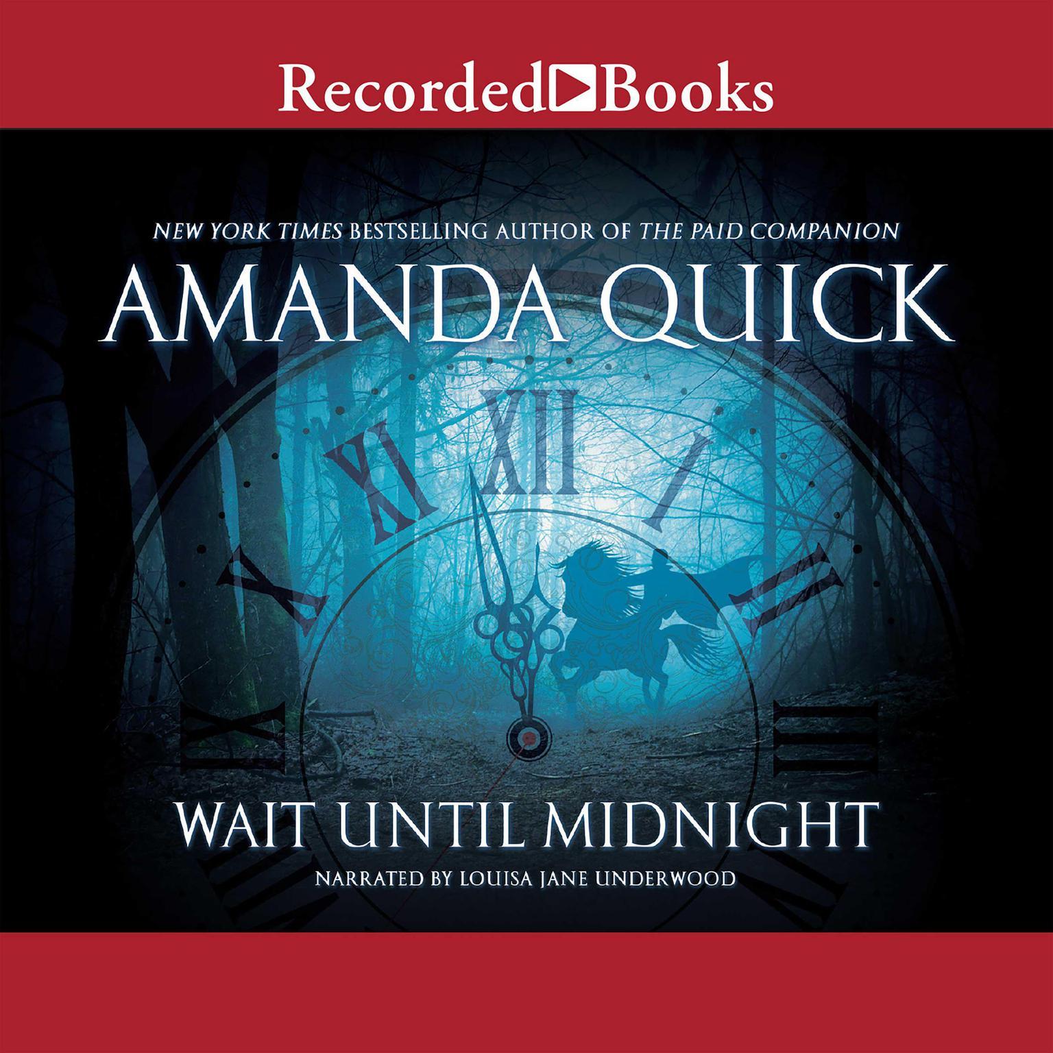 Printable Wait Until Midnight Audiobook Cover Art