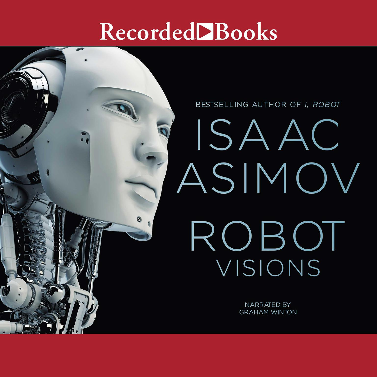 Printable Robot Visions Audiobook Cover Art