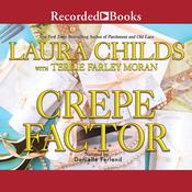 Crepe Factor Audiobook, by Laura Childs, Terrie Farley Moran