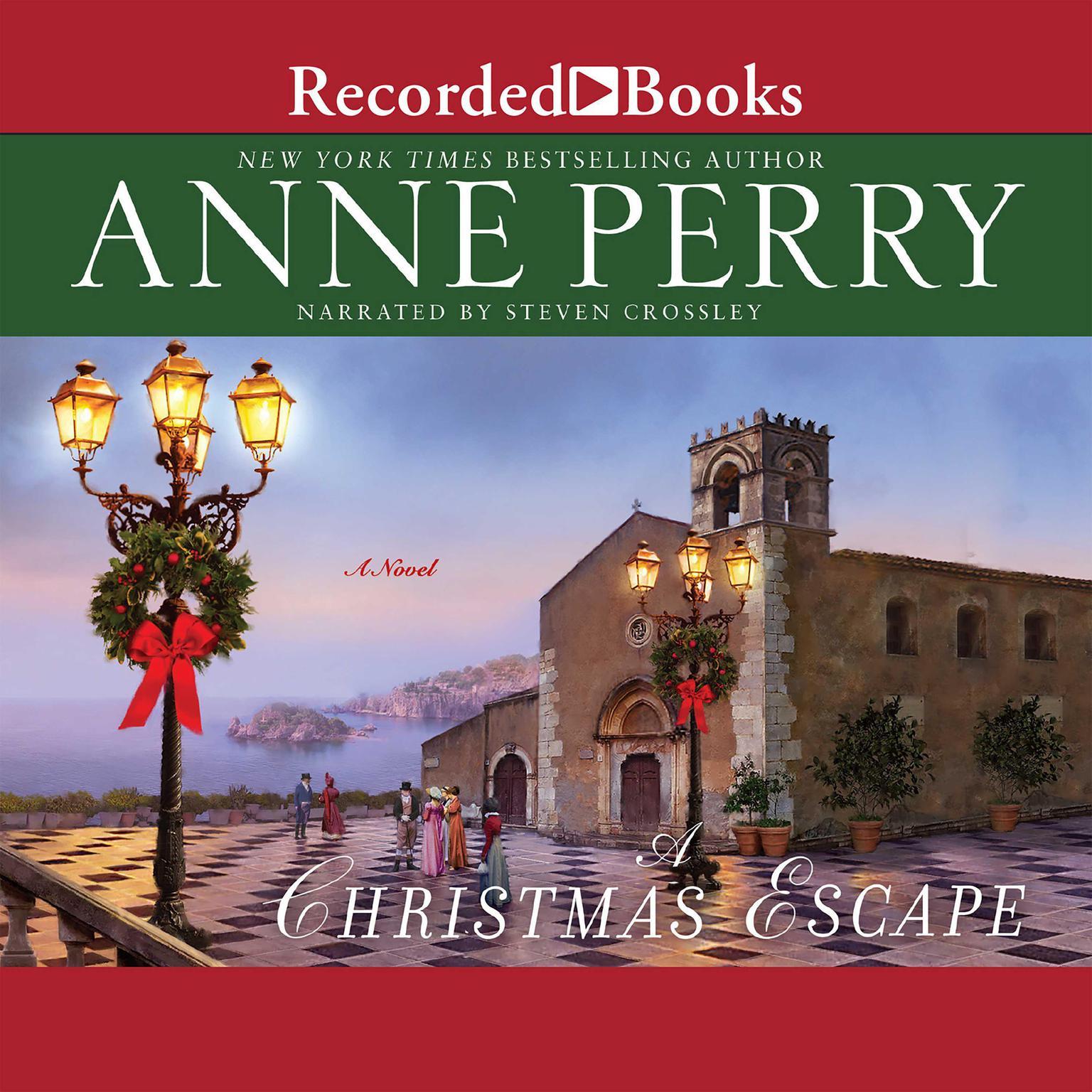 Printable A Christmas Escape Audiobook Cover Art