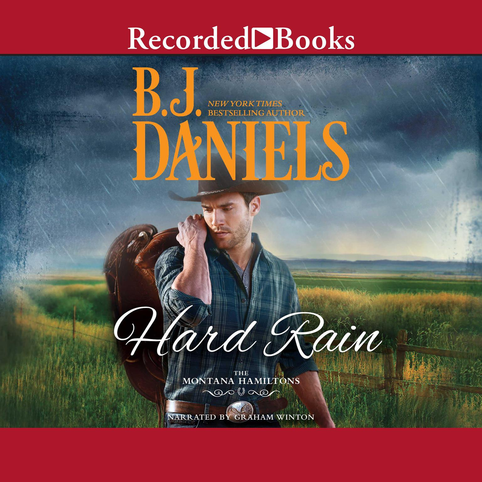 Printable Hard Rain Audiobook Cover Art