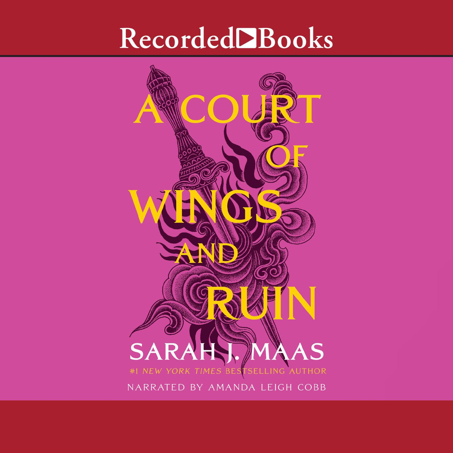 Printable A Court of Wings and Ruin Audiobook Cover Art