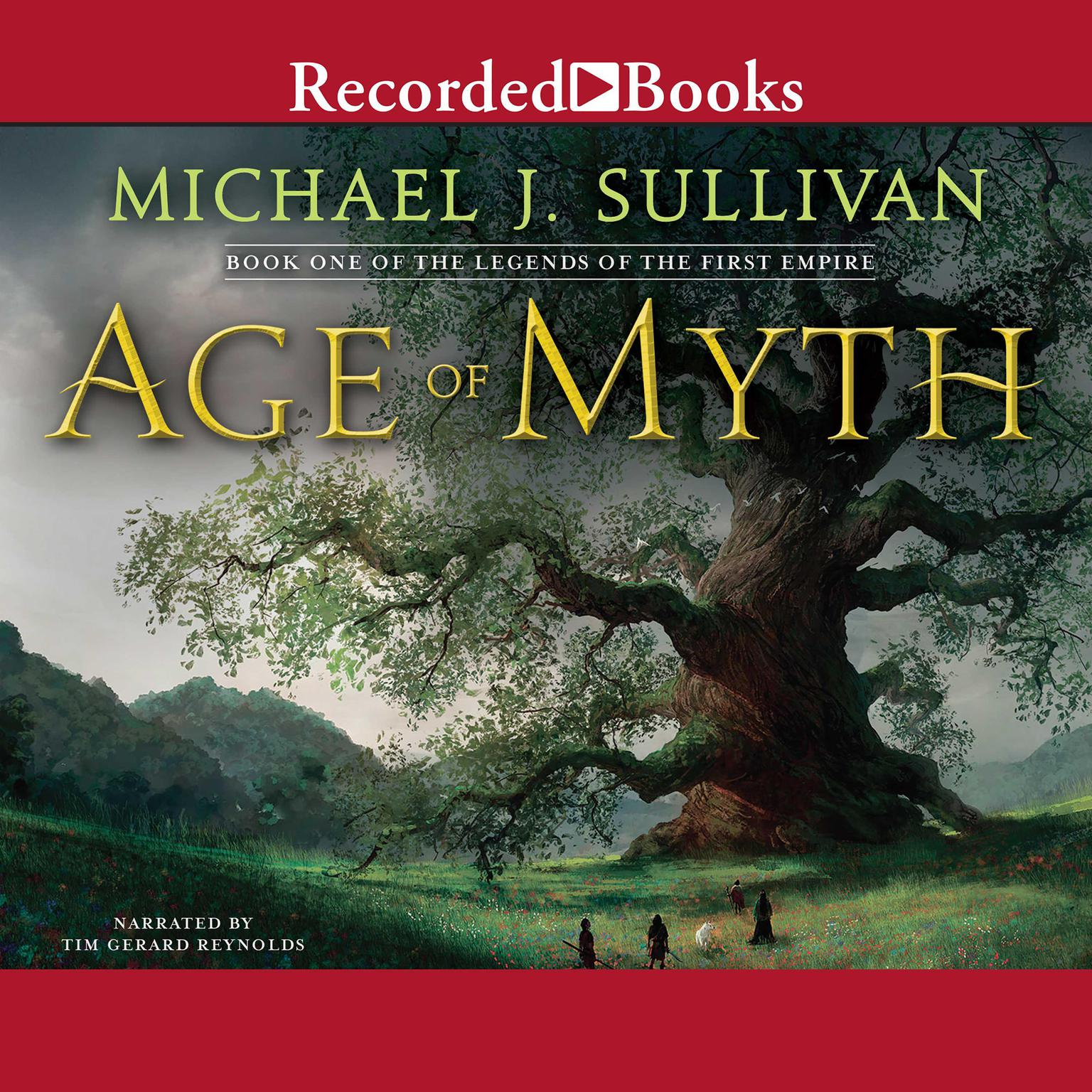 Printable Age of Myth Audiobook Cover Art