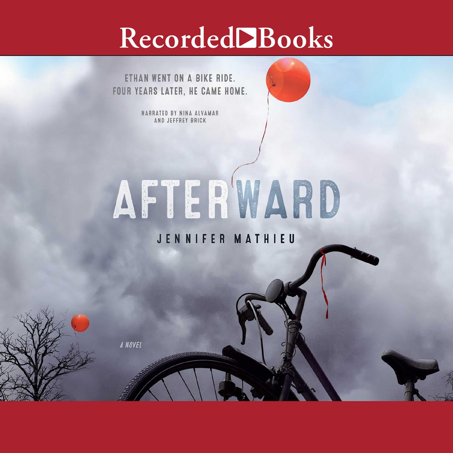 Printable Afterward: A Novel Audiobook Cover Art