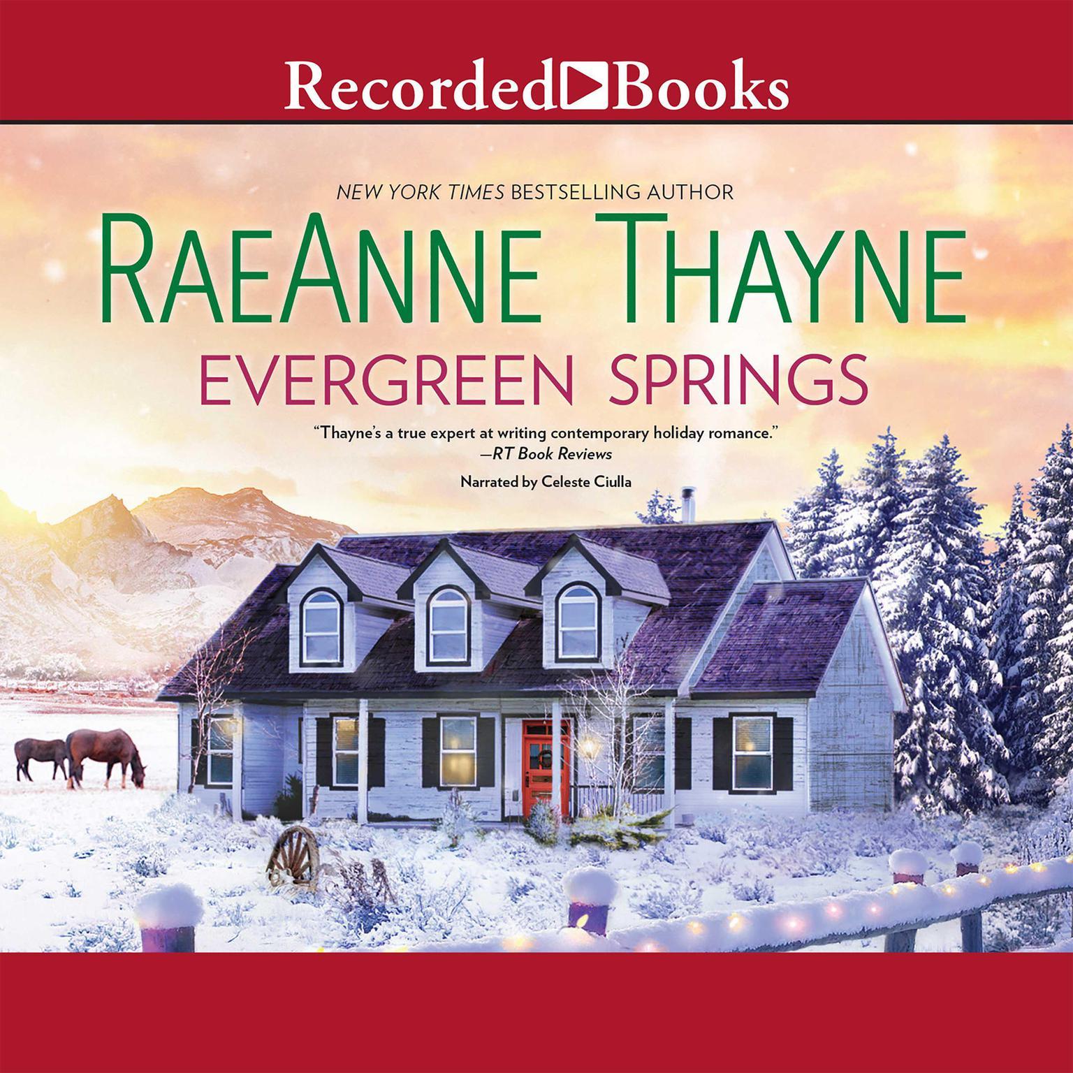 Printable Evergreen Springs Audiobook Cover Art