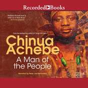 A Man of the People Audiobook, by Chinua Achebe