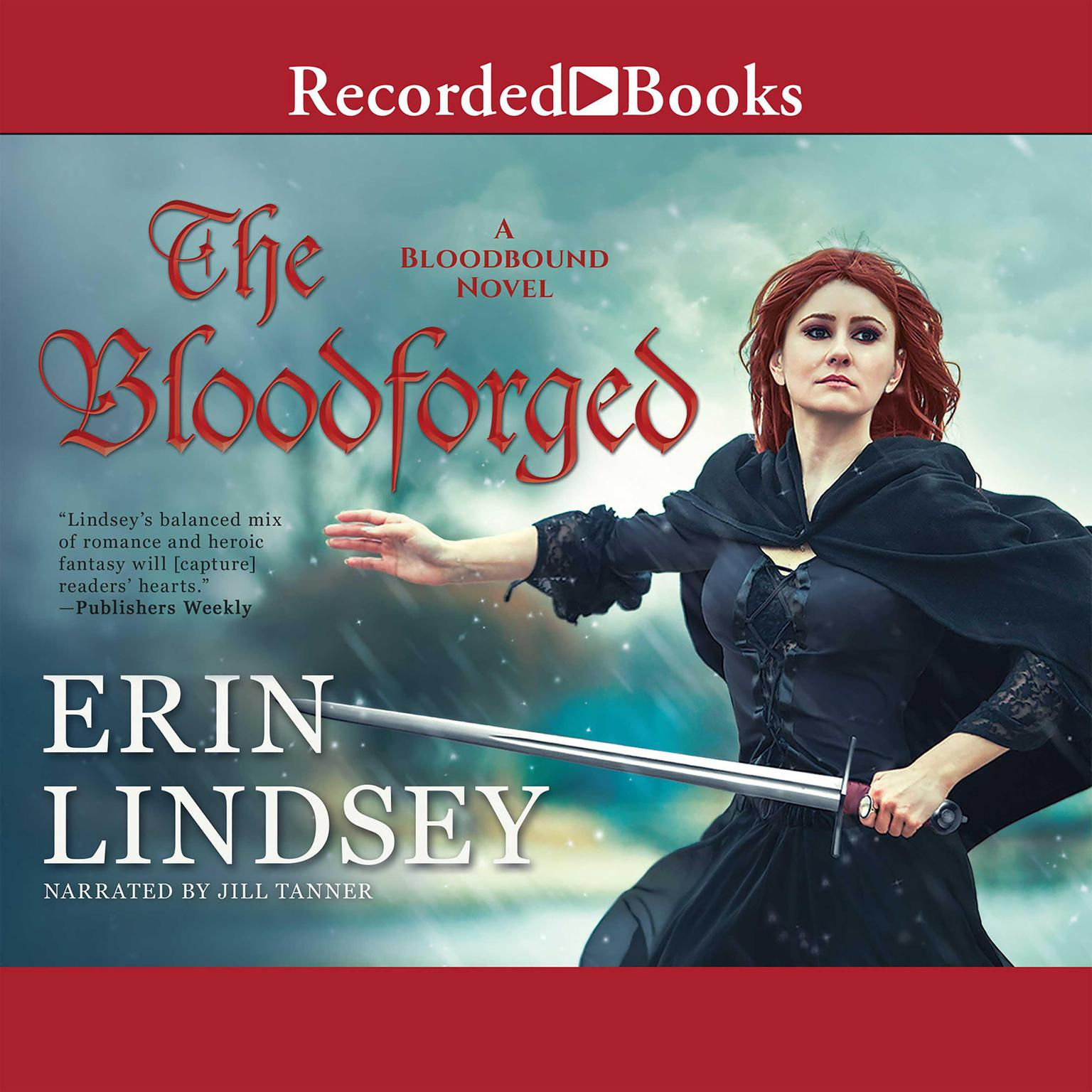 Printable The Bloodforged Audiobook Cover Art