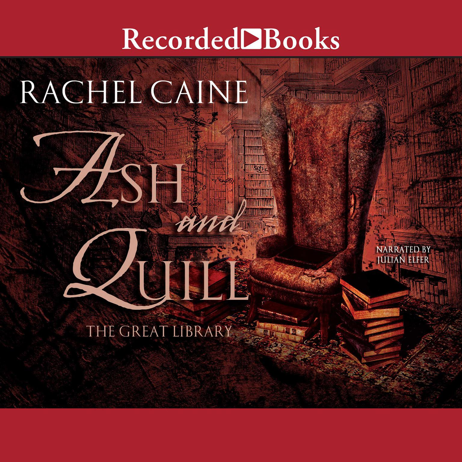 Printable Ash and Quill Audiobook Cover Art